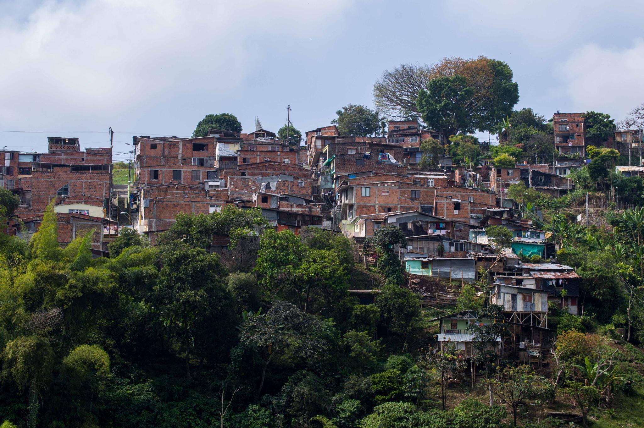 Bogota Suburb by JBP