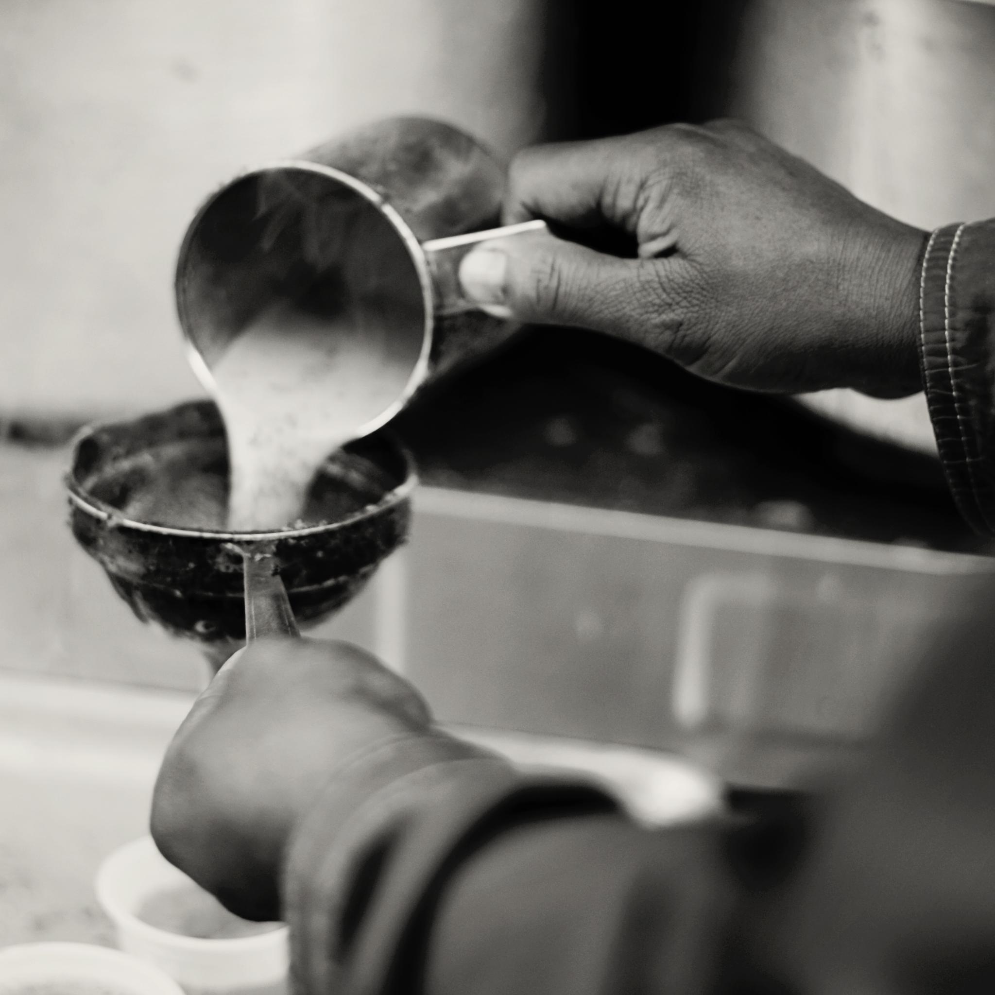 Photo in Black and White #tea #chiya #bw #blackandwhite #basantapur #hot