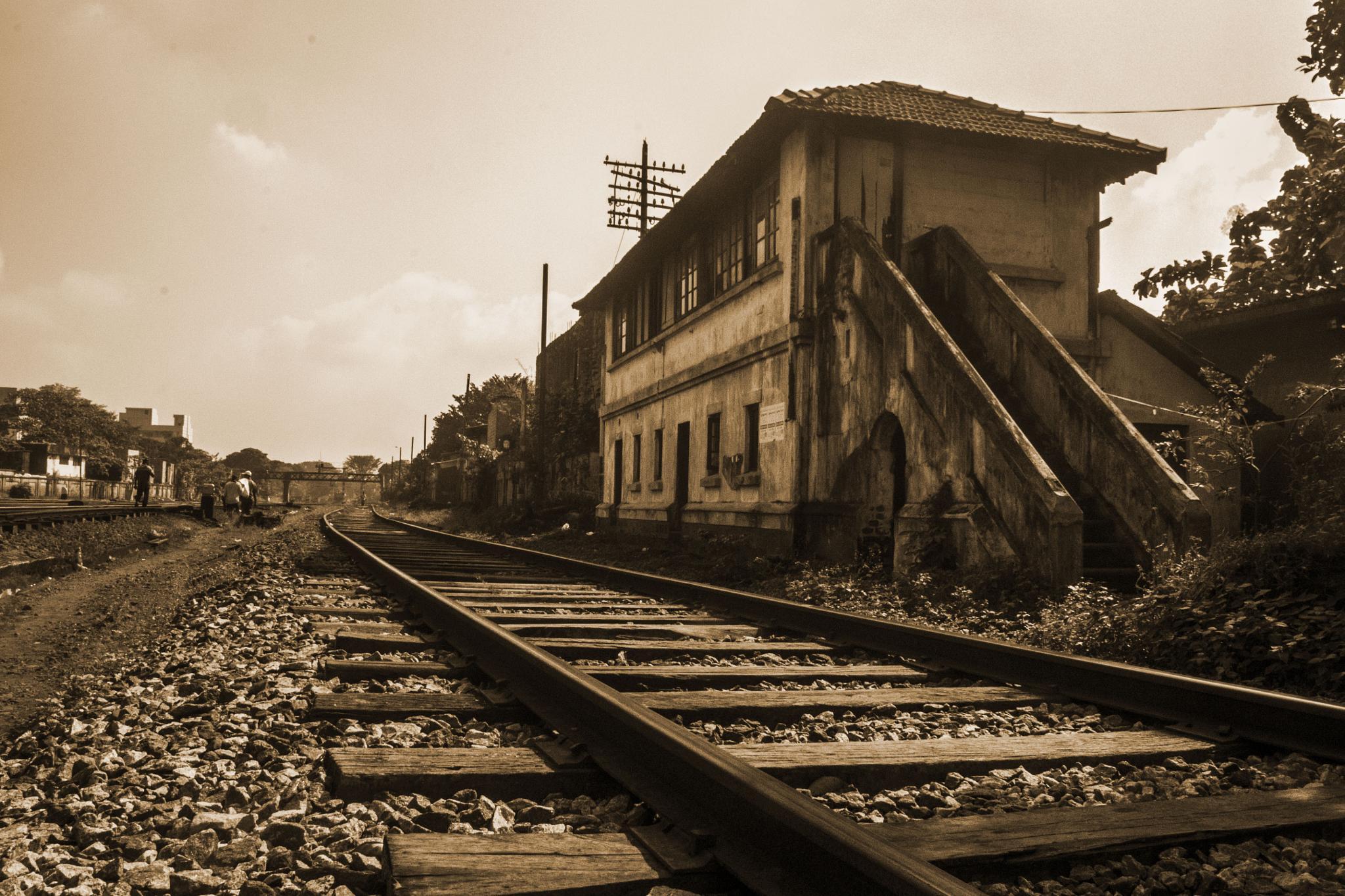 Photo in Travel #sepia #railway