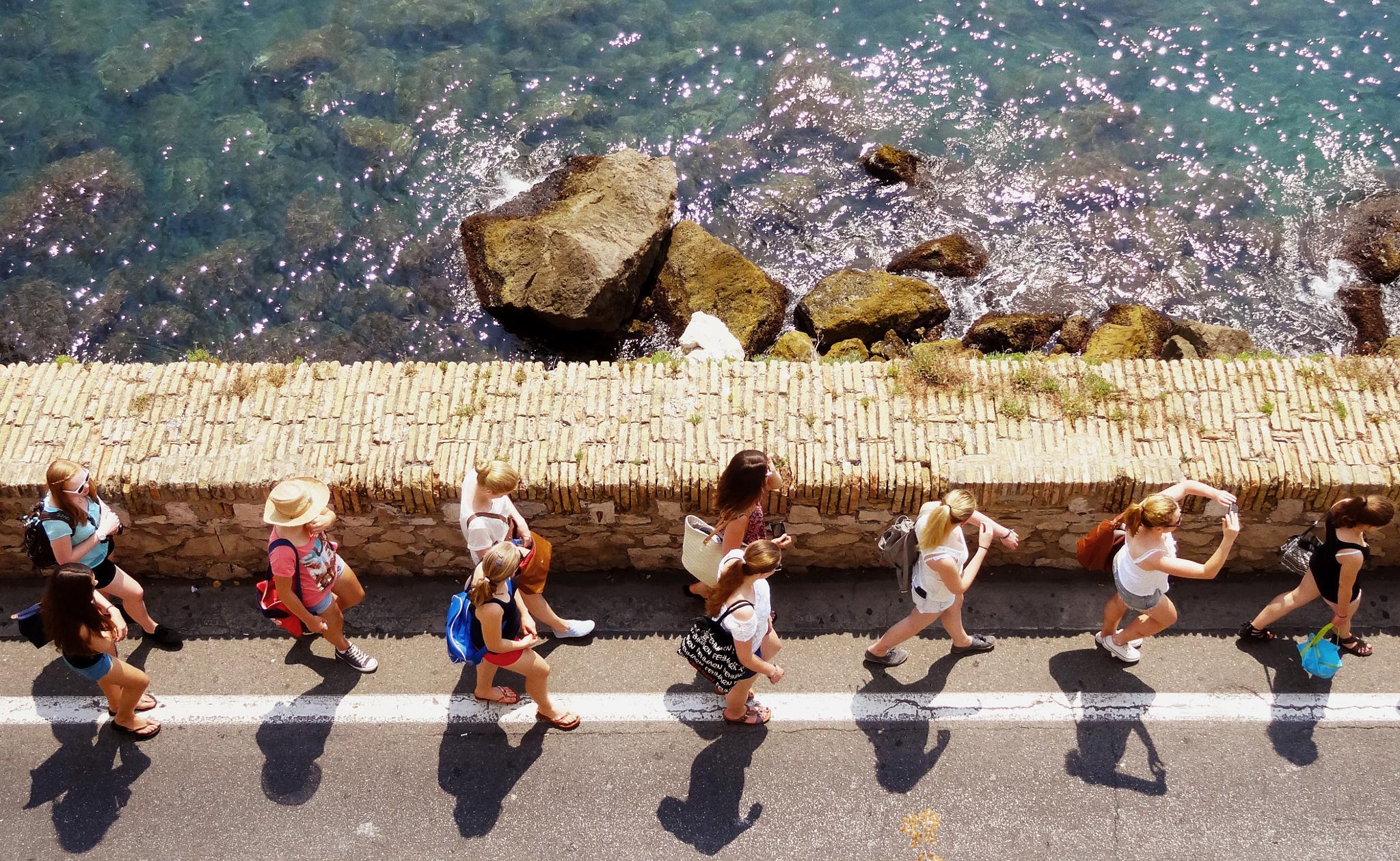 Walk the Line by Vanja Bejin