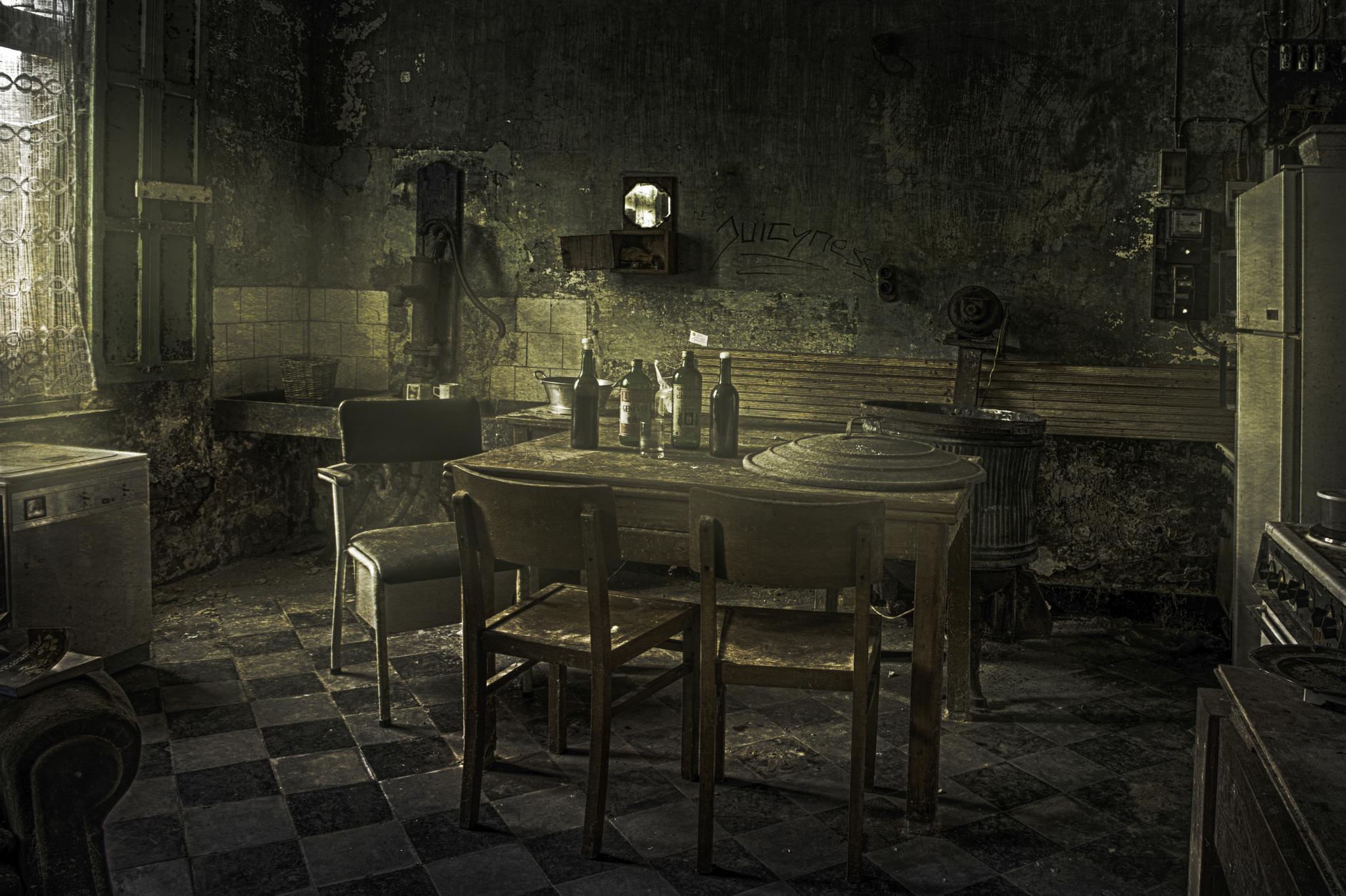 Die Küche by Eleonore Swierczyna