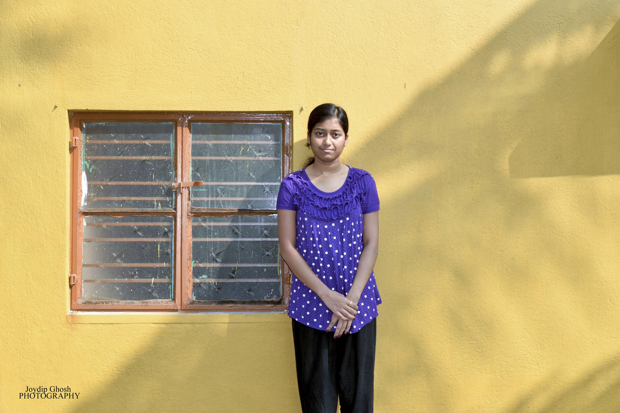 Small town Girl!  by Joydip Ghosh