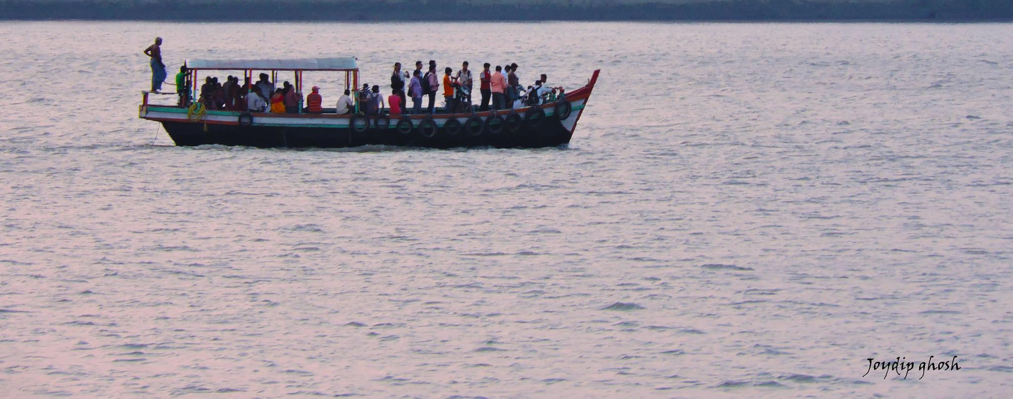 We may have all come on different ships, but we're in the same boat now  by Joydip Ghosh