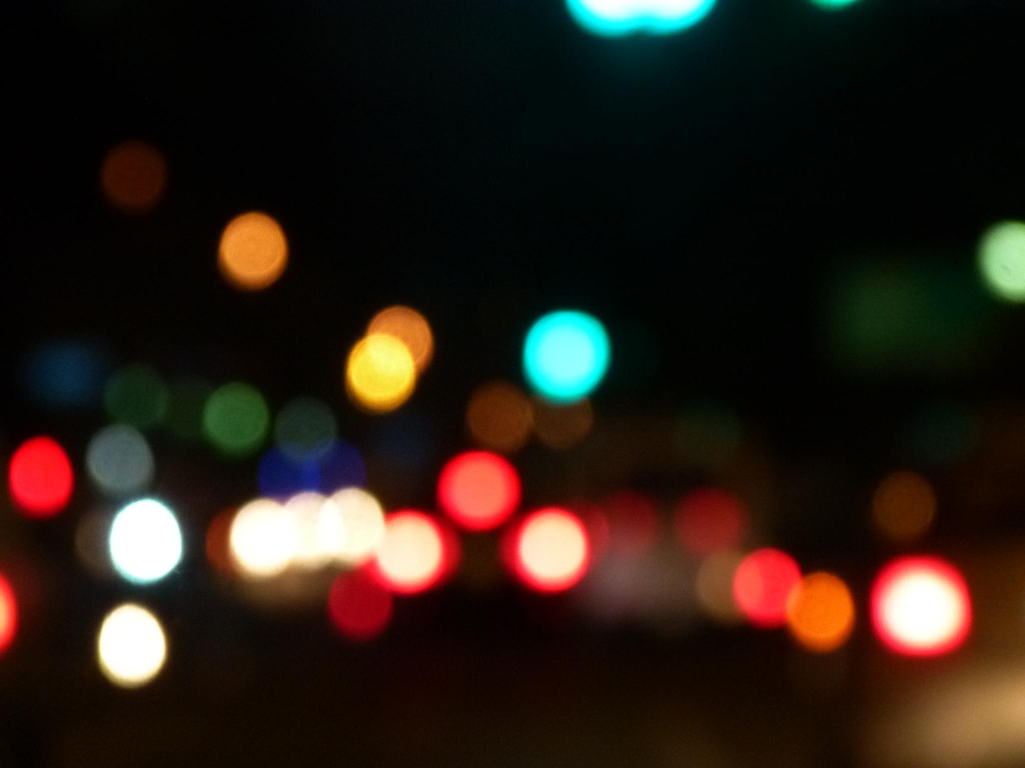 Photo in Abstract #night #cars #people #colours #walking