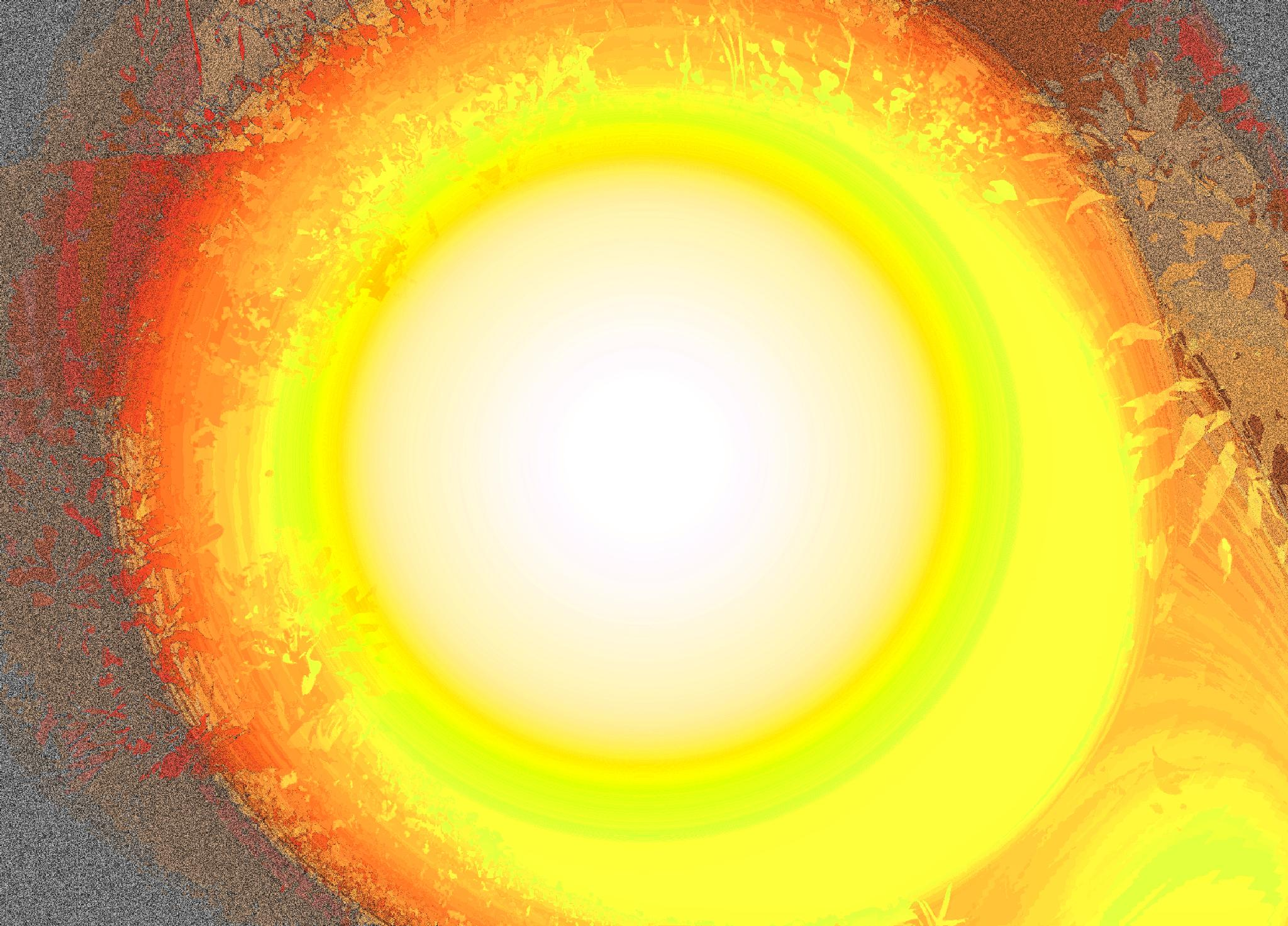 Photo in Abstract #colour #yellow #circle #energy #light #vibration