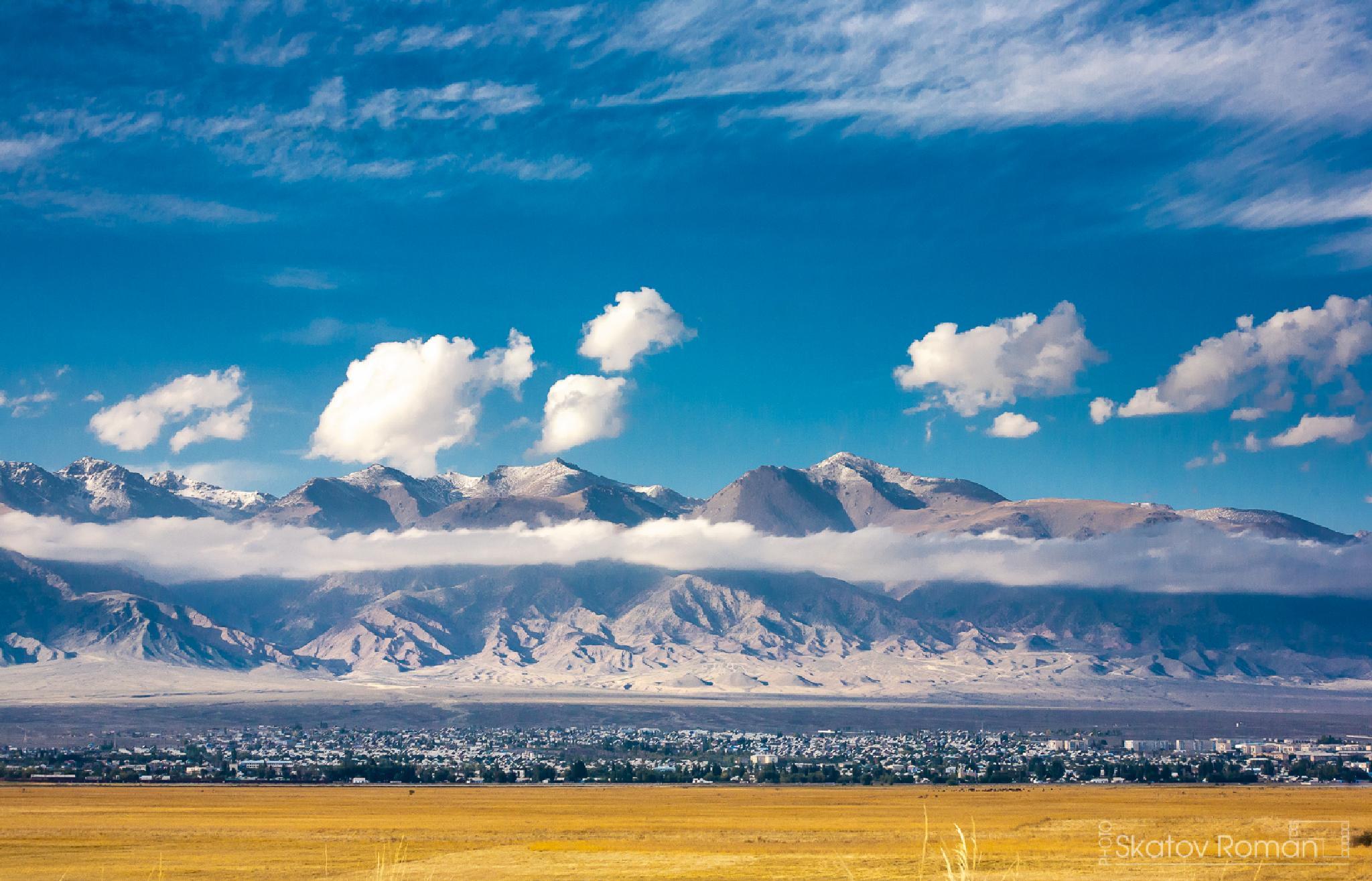 Balykchi. Kyrgyzstan by Skatov Roman