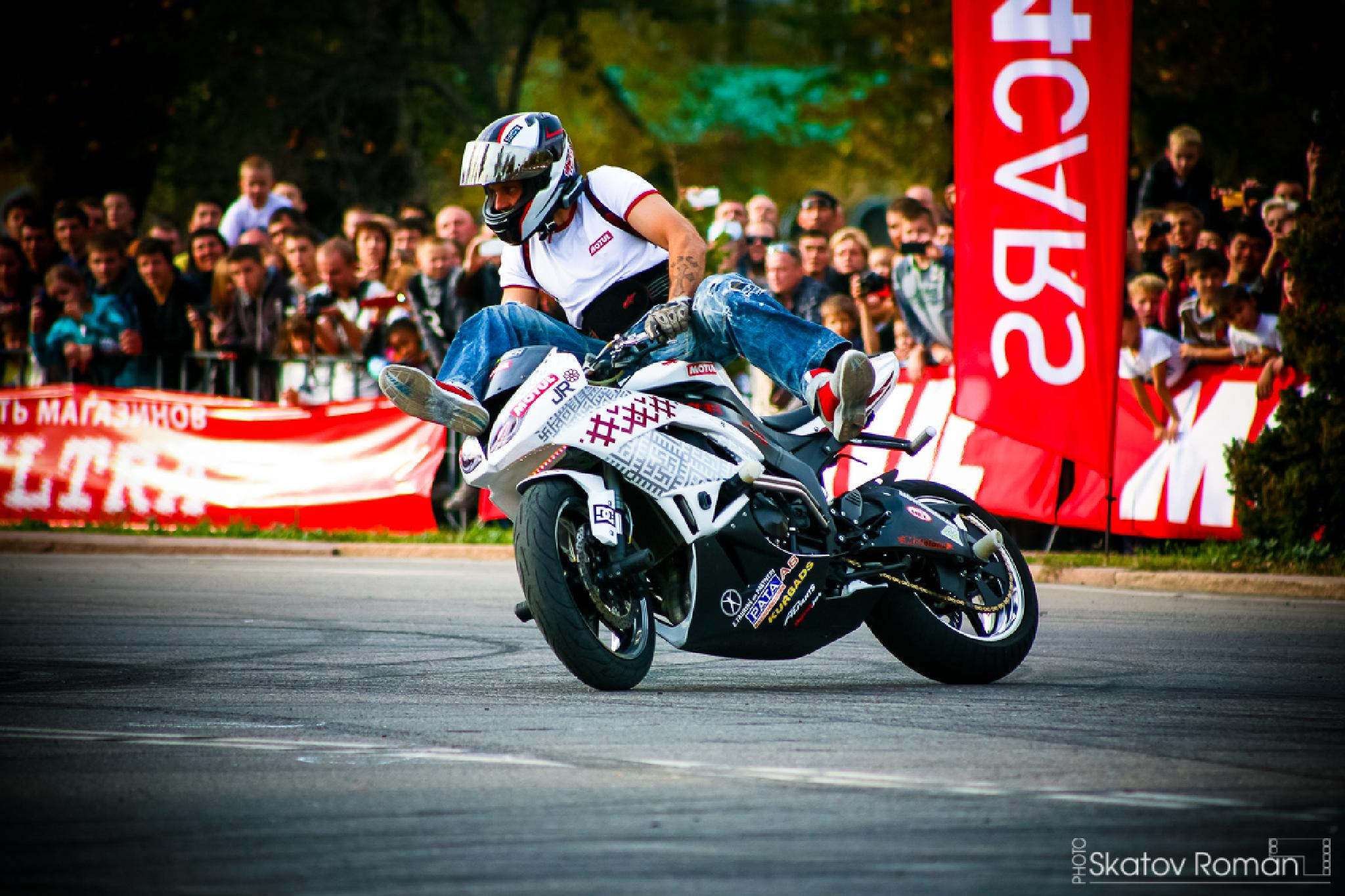 Photo in Sports #biskek #stuntriding #moto