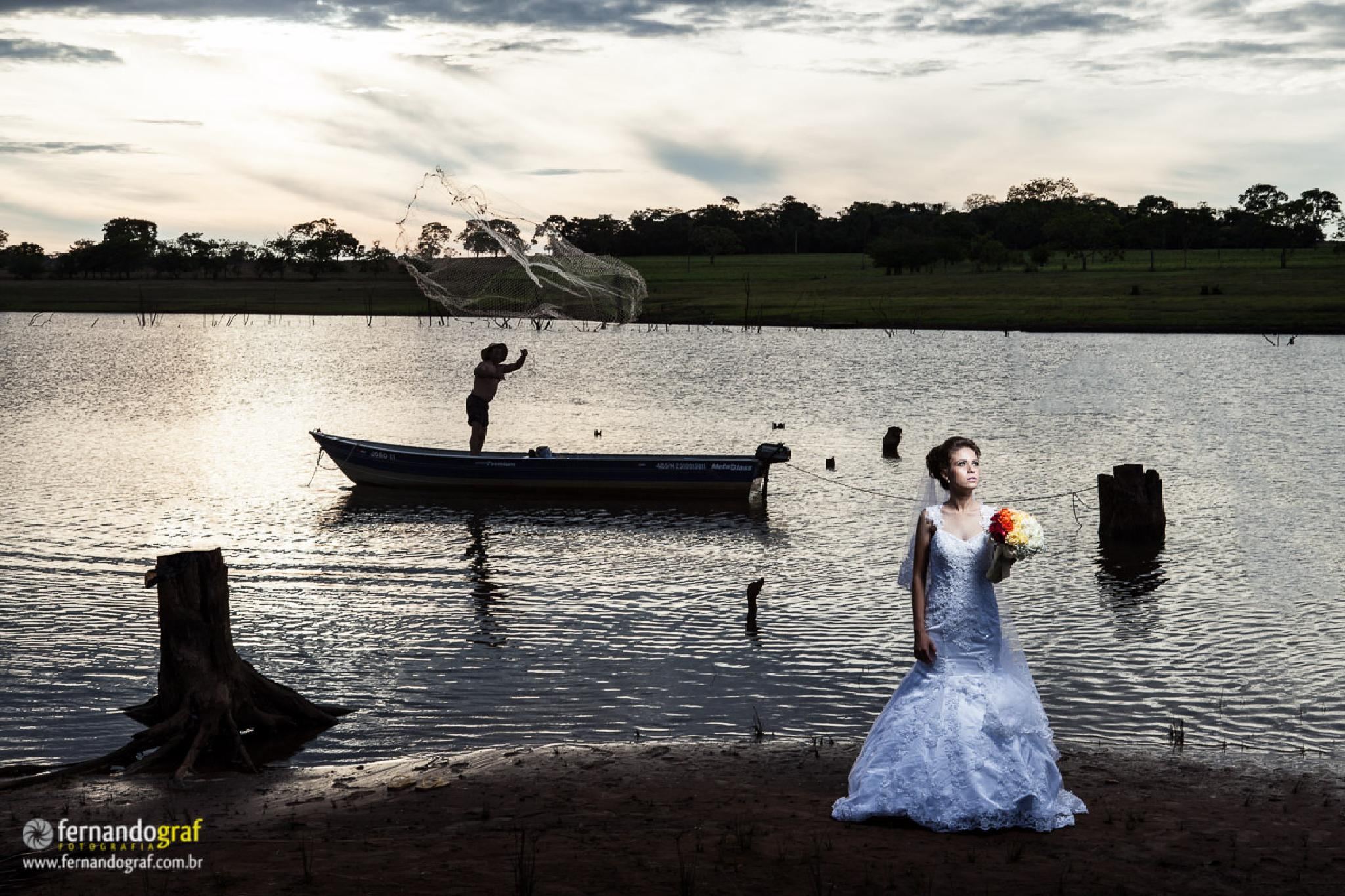 The Bride and the Fisherman by Fernando Graf