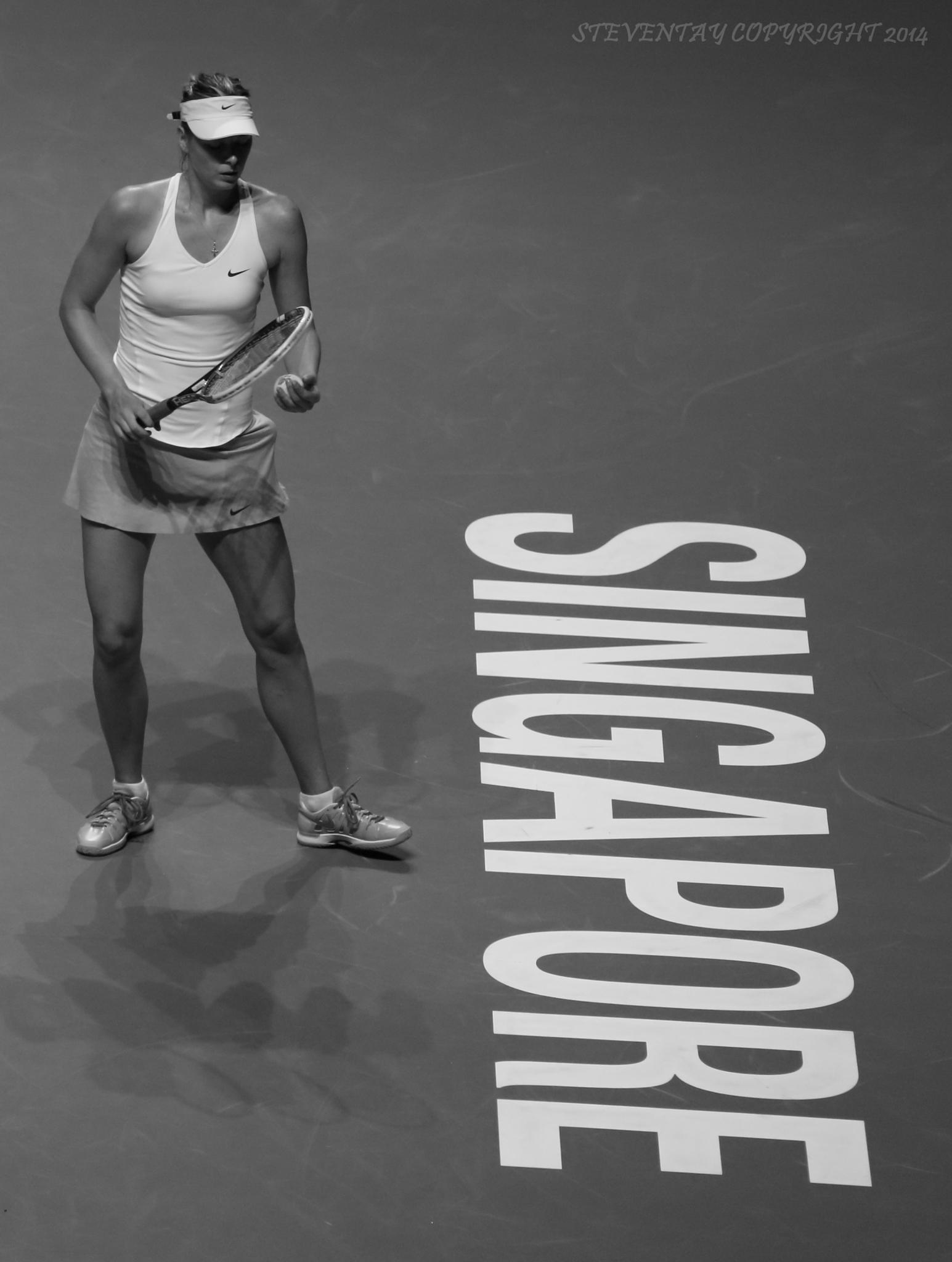 Maria Sharapova. Contemplation. by steven.tay.74