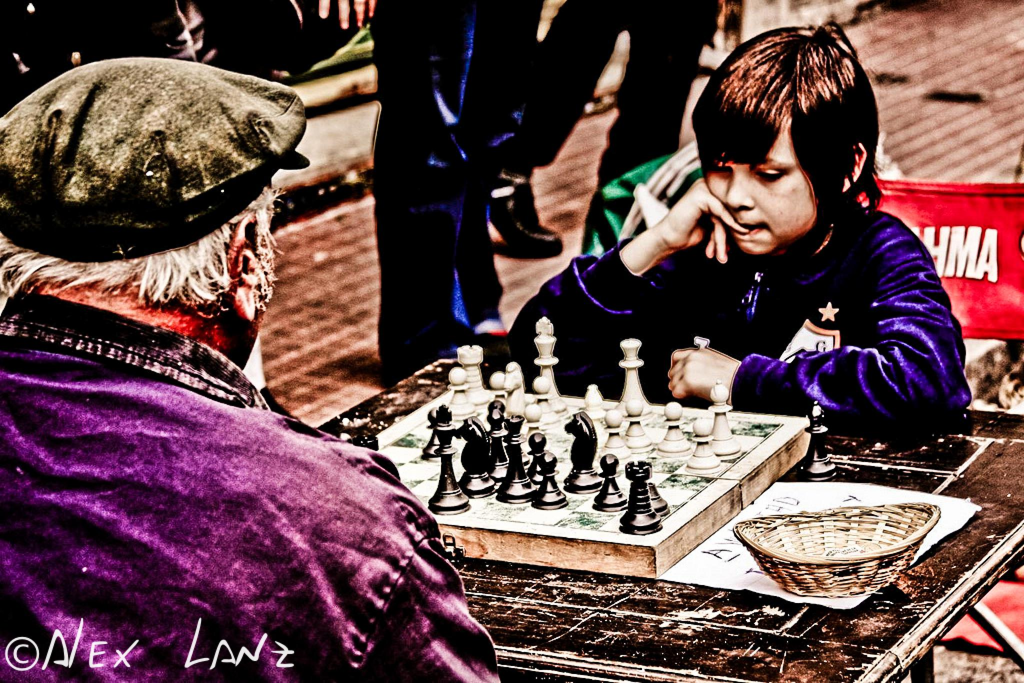 Boy vs Old man by Alex Lanz