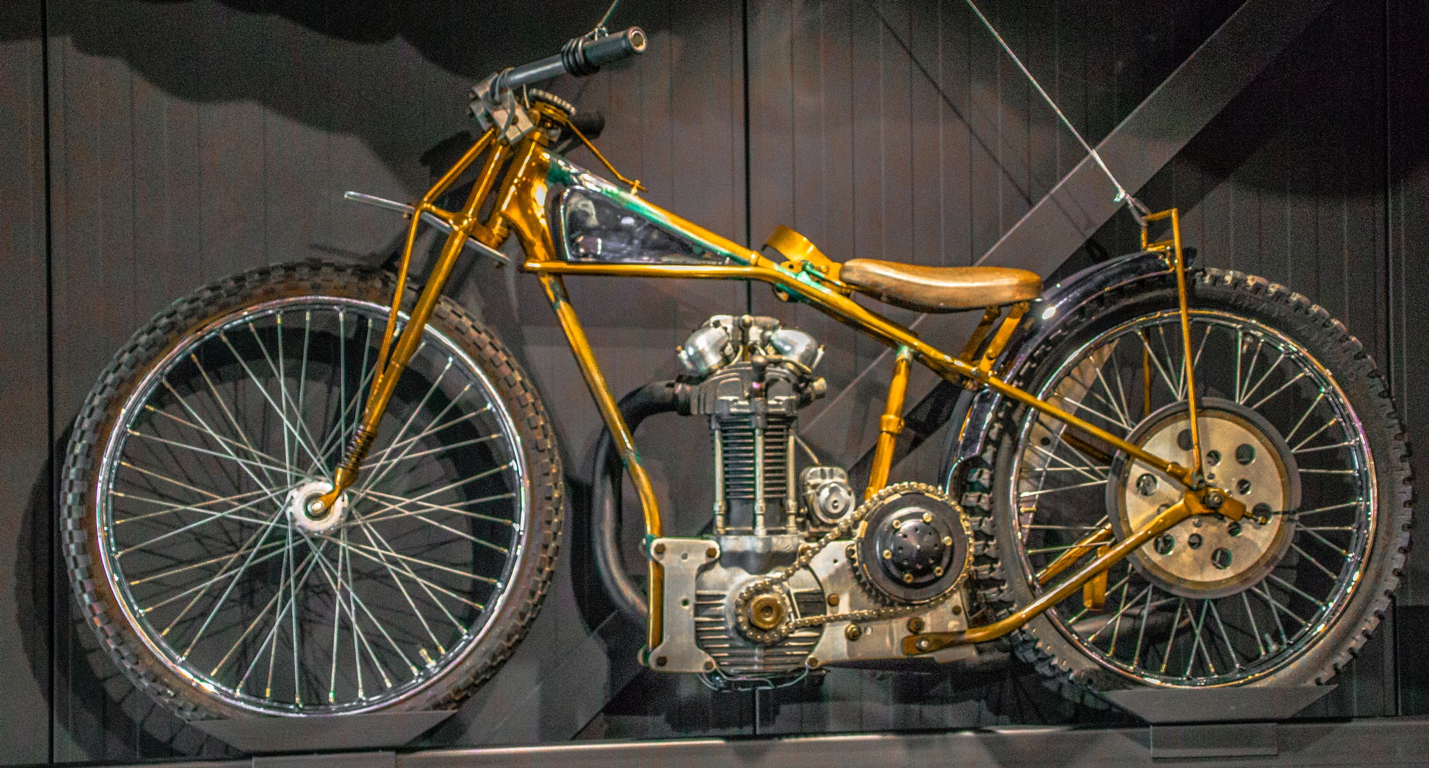 1939 697cc OHV Mosley Speedway Bike by george.mcmenemy.7