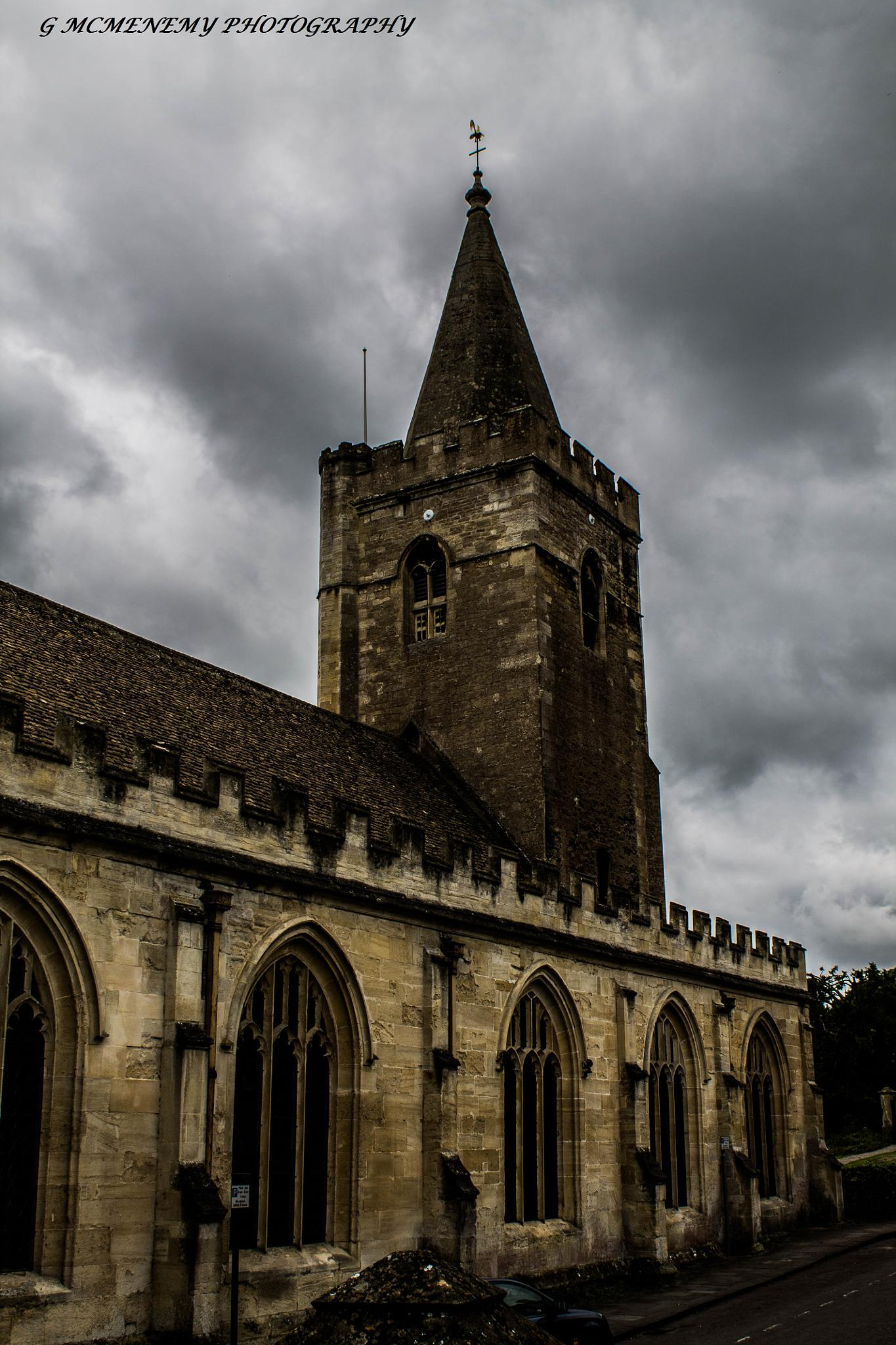 Bradford on Avon Church by george.mcmenemy.7