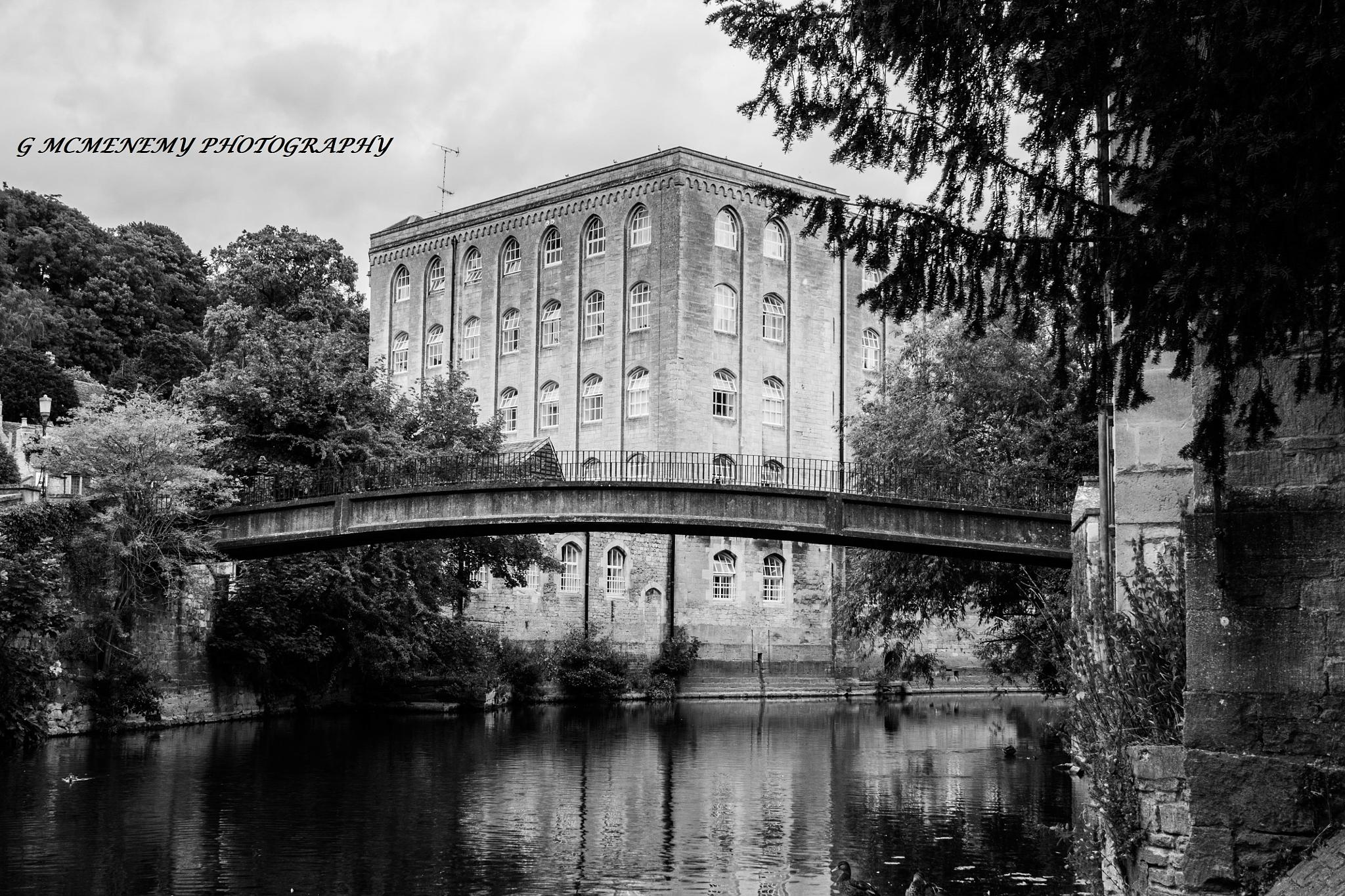 The Old Mill & McKeever Bridge by george.mcmenemy.7