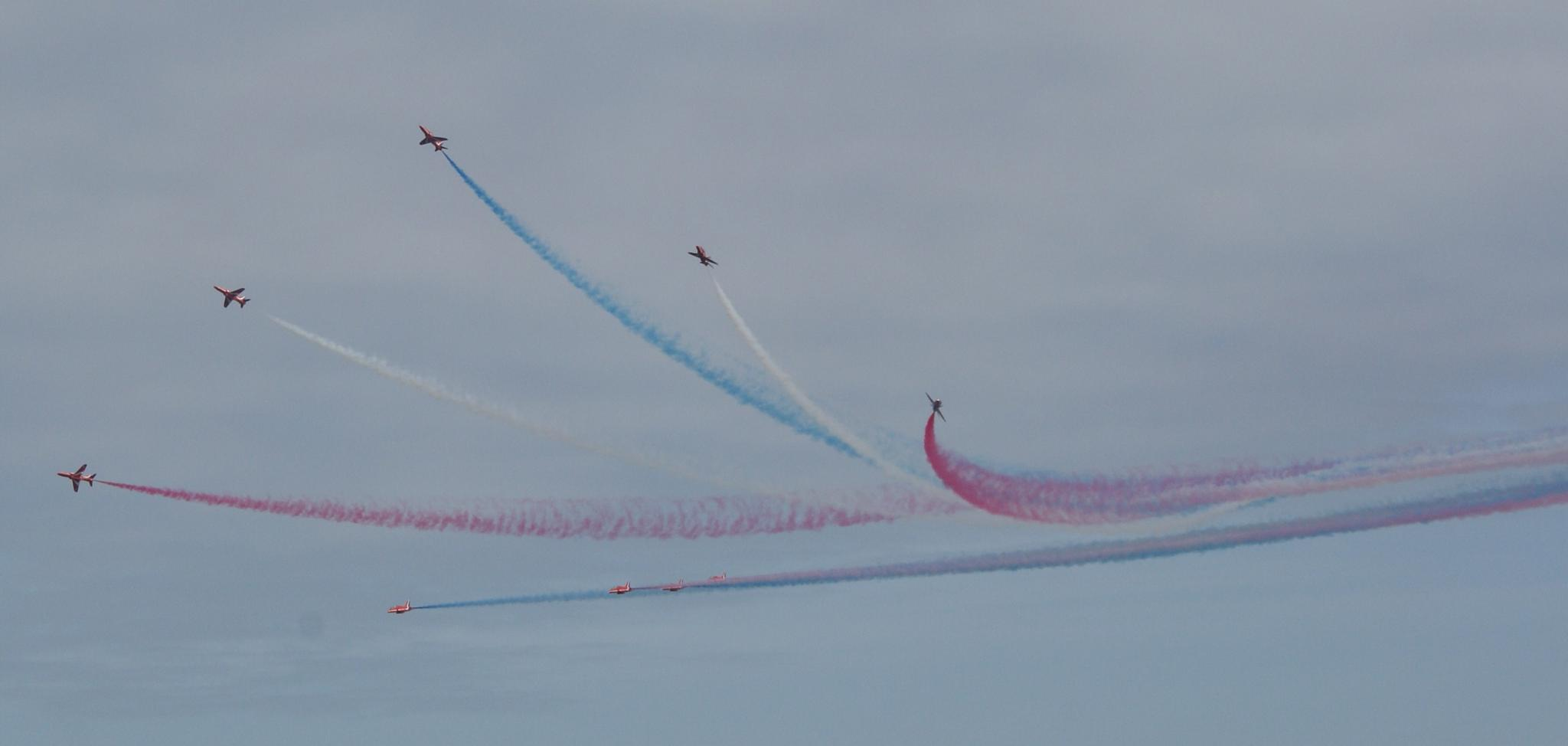 Red Arrows by george.mcmenemy.7