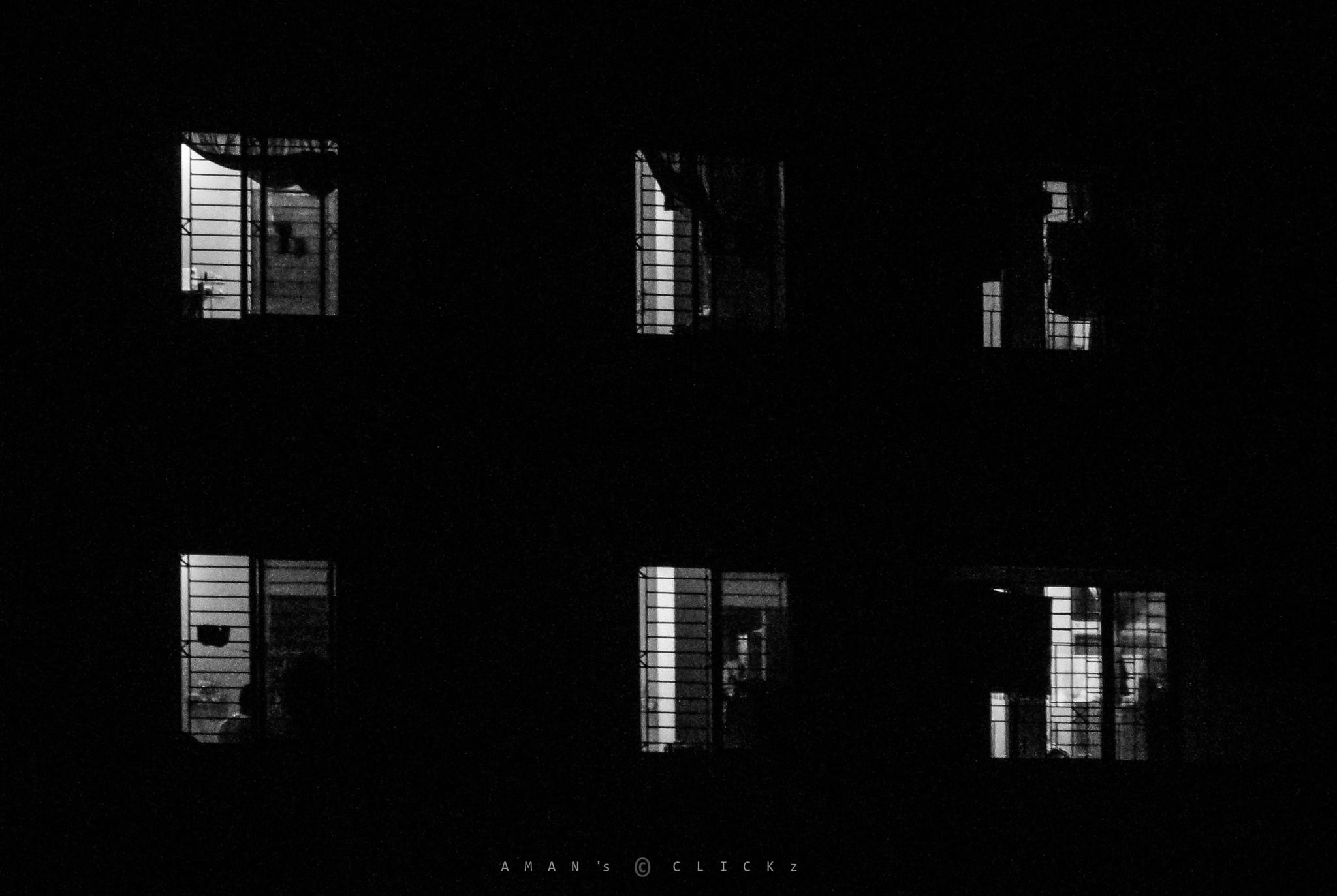 Photo in Black and White #low light #b&w #night