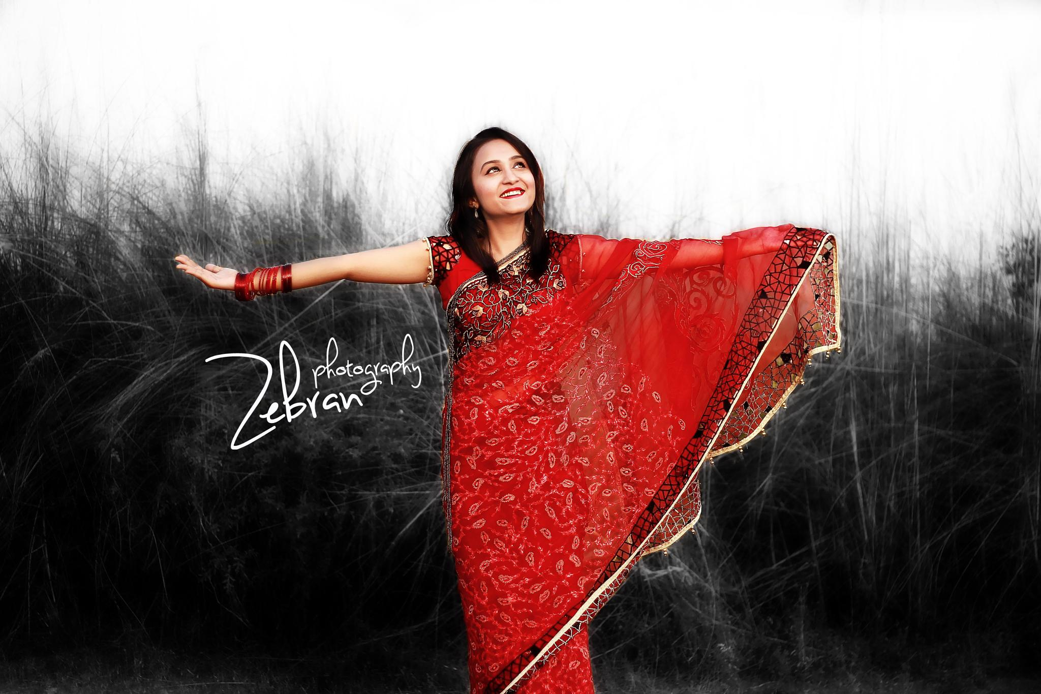 Black & Red  by zebran.h.navid