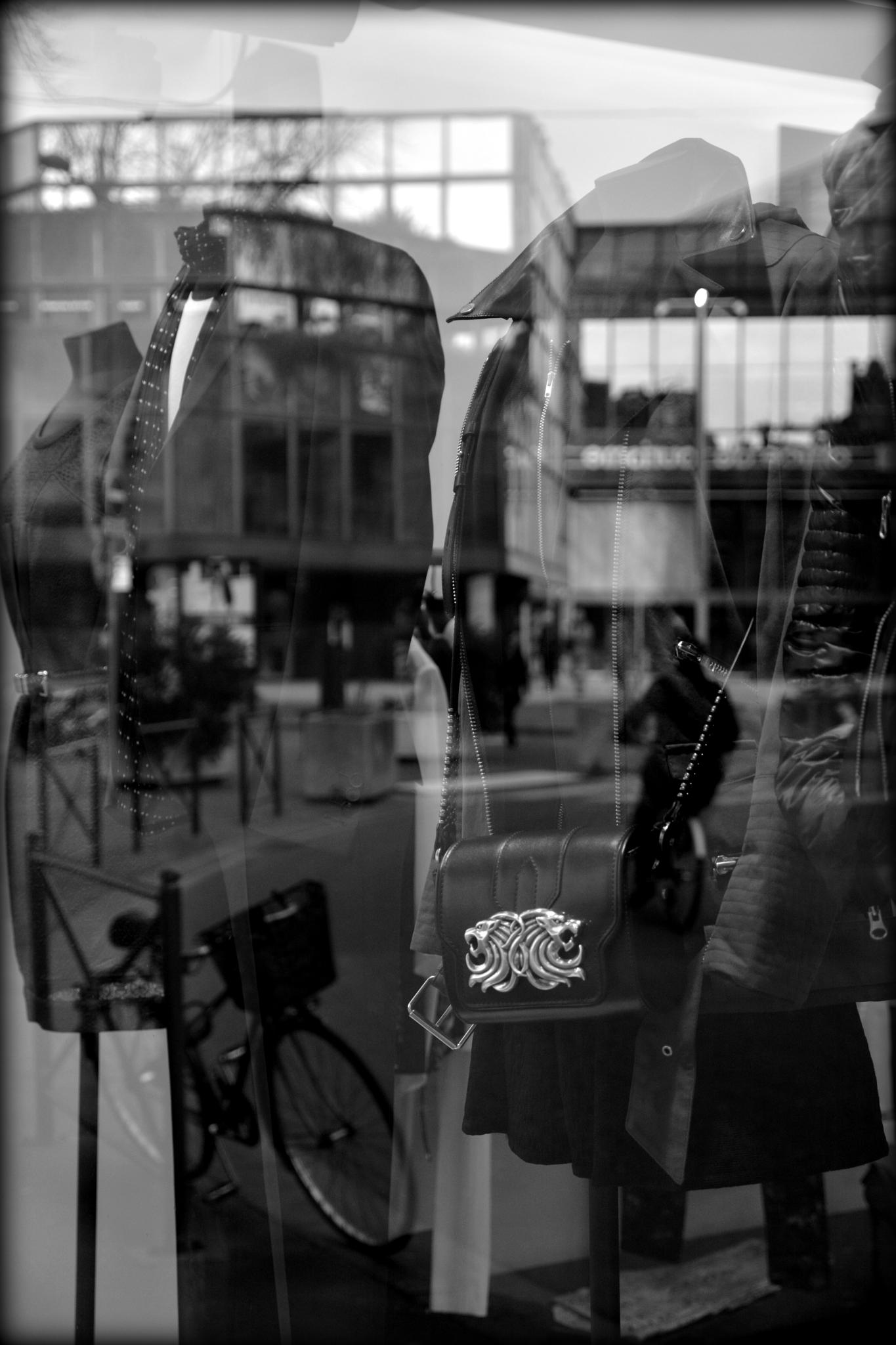 Photo in Street Photography #street #reflection #annecy