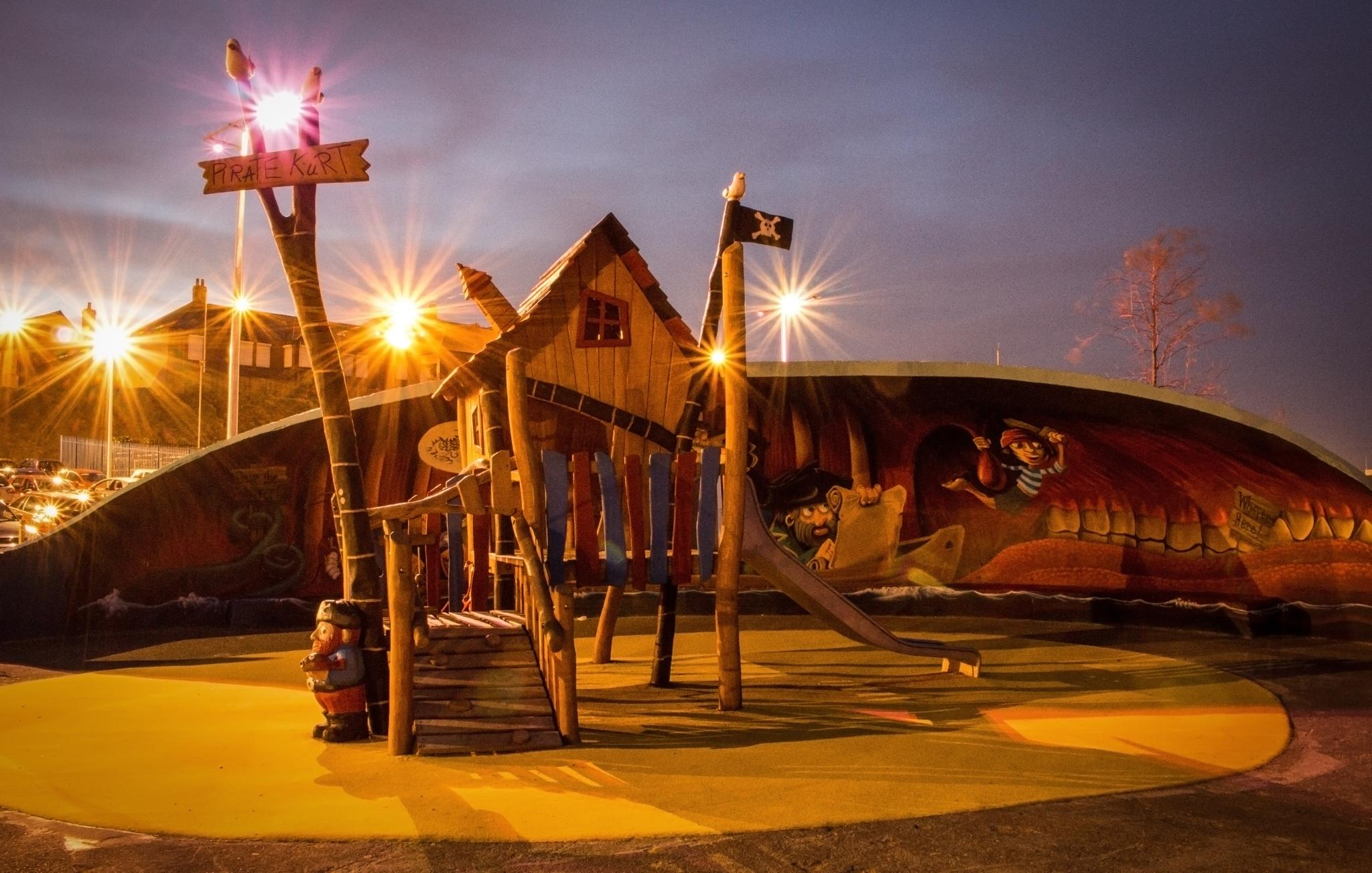 Roker Play Park by Bobby White