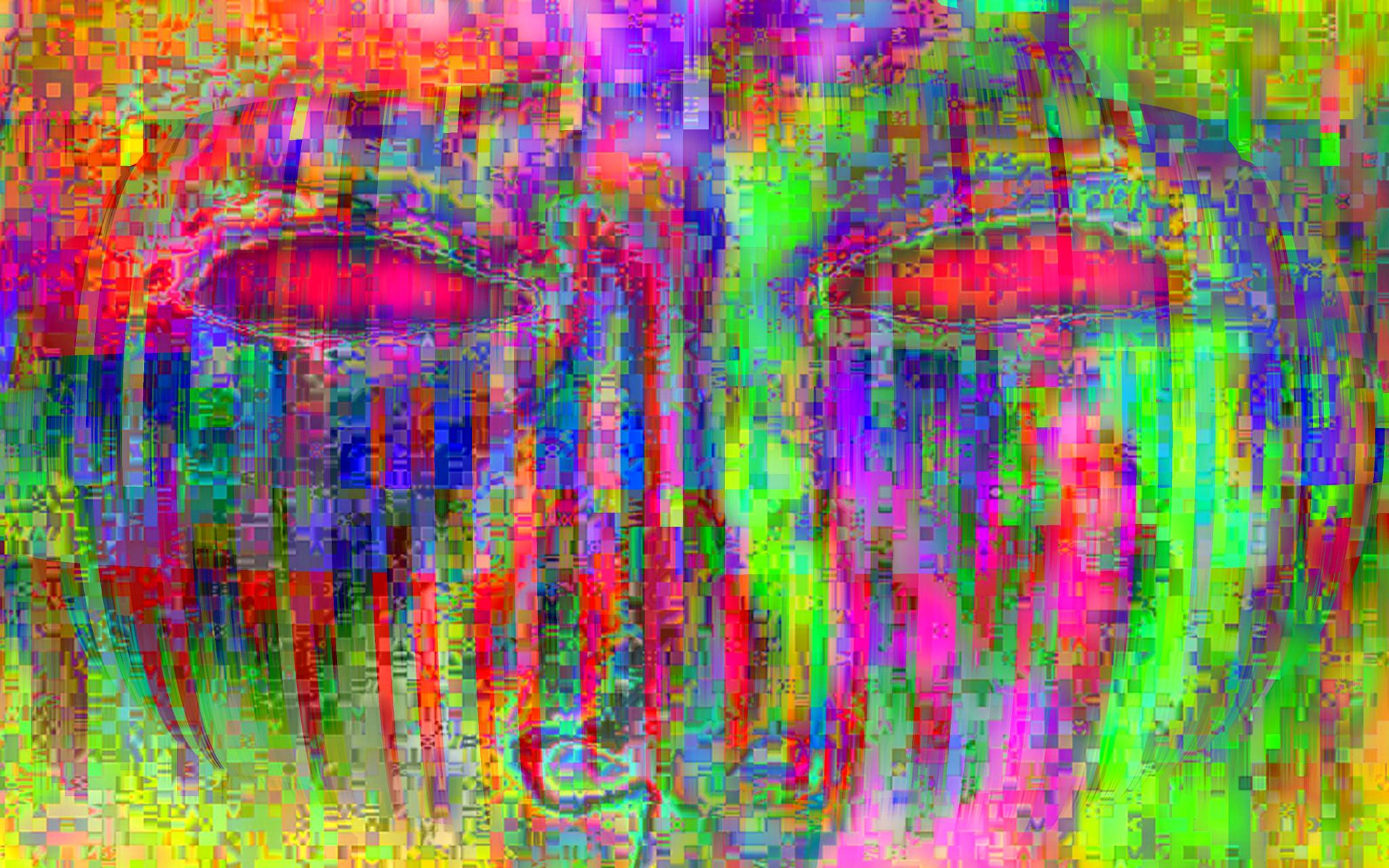 Photo in Abstract #digital #eyes #mask