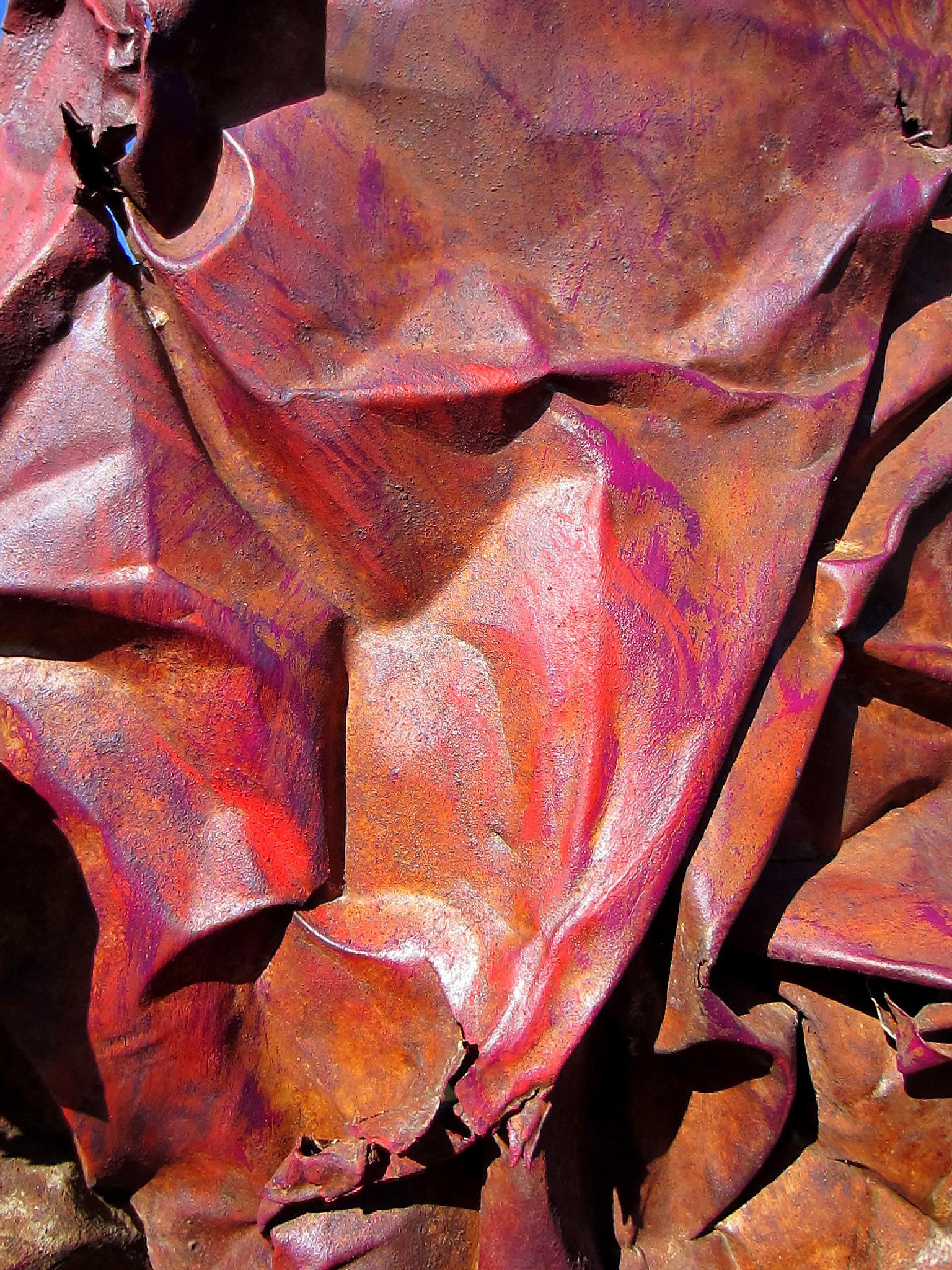 Crumpled Iron by mpross1