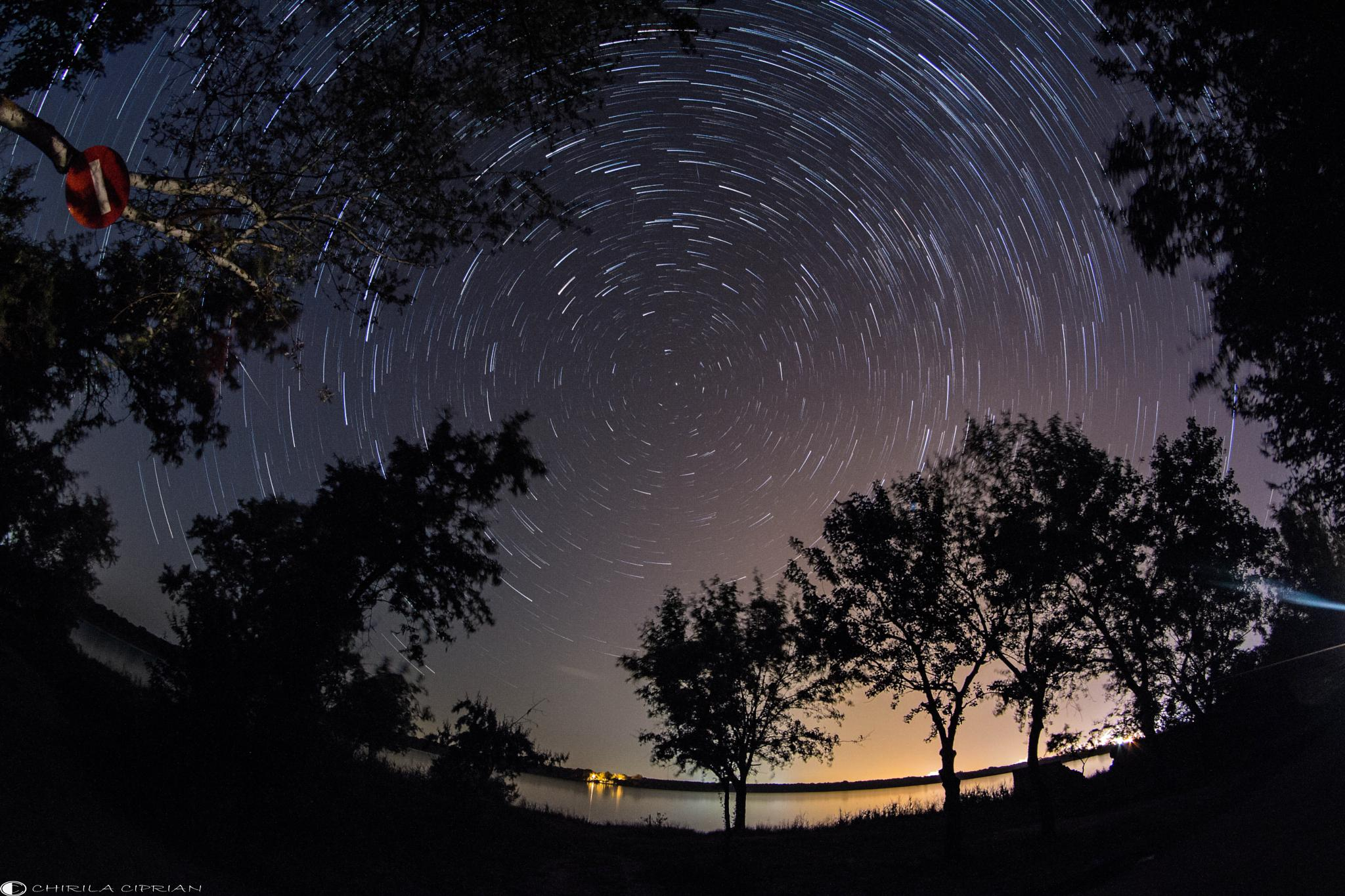 Photo in Astrophotography #stars #startrails #astrophotography