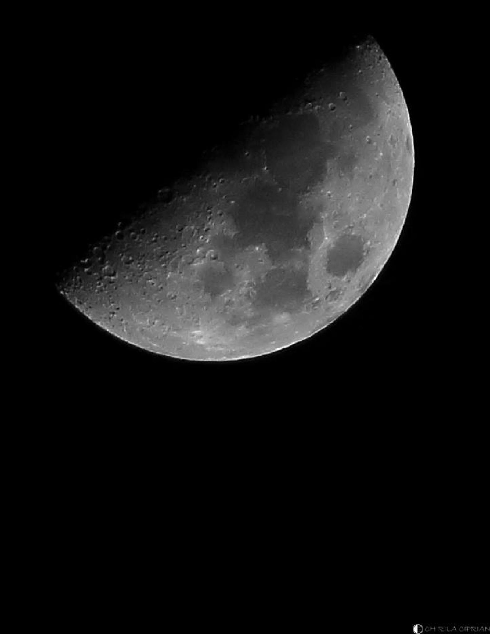Photo in Astrophotography #moon #star #astrophotography