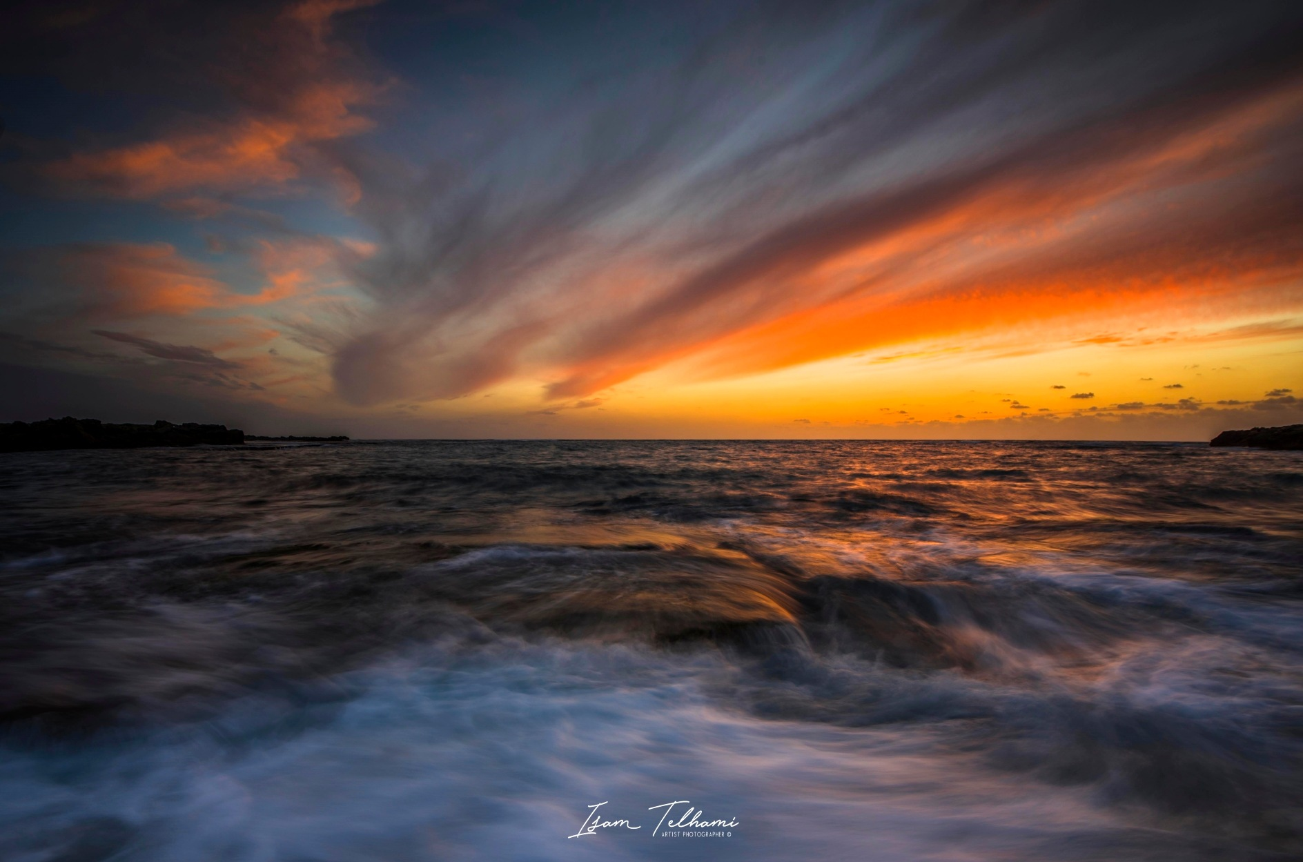 Paint with Clouds and Waves   by IsamTelhami