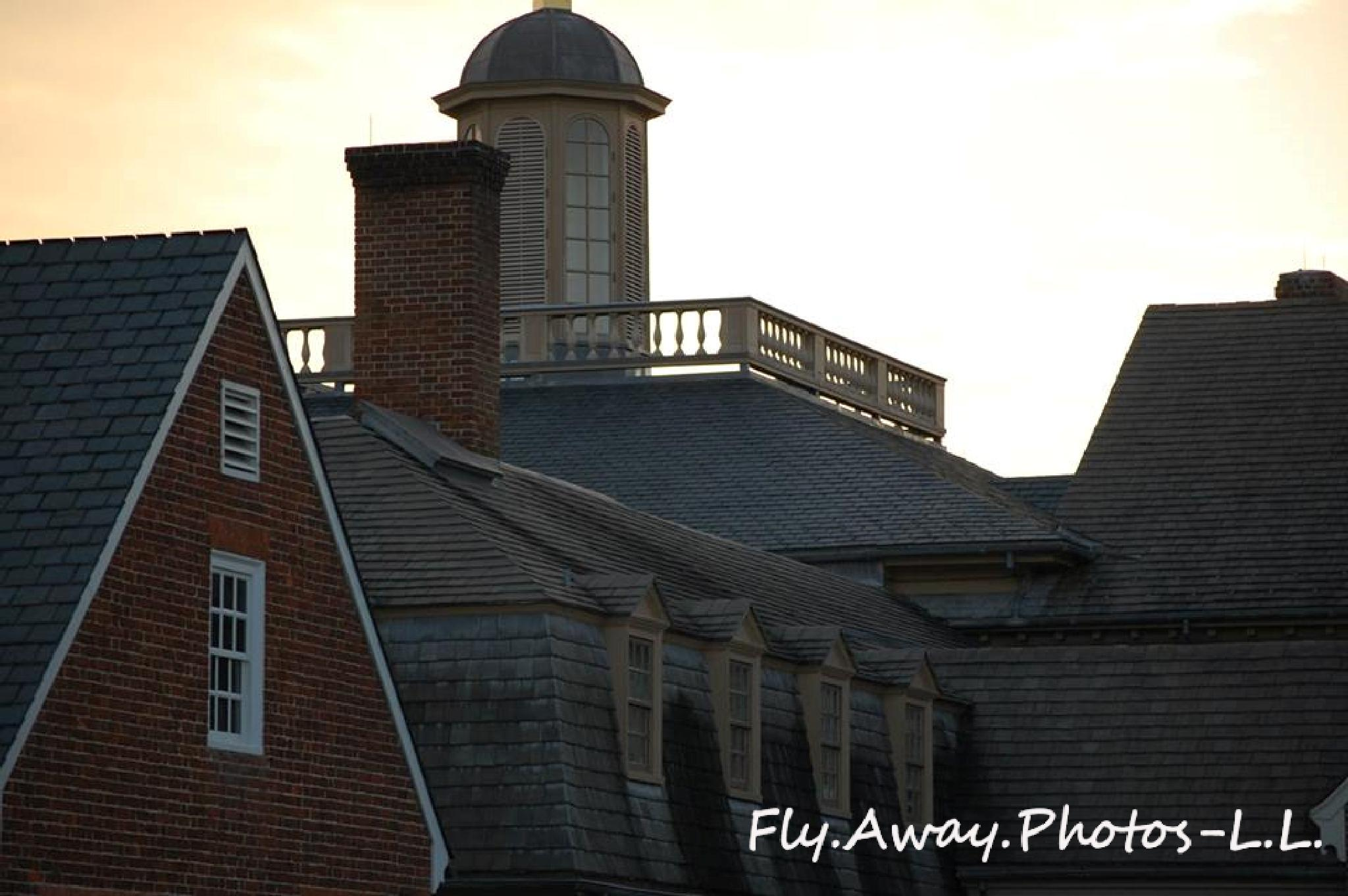 Photo in Architecture #colonial #buildings #dusk