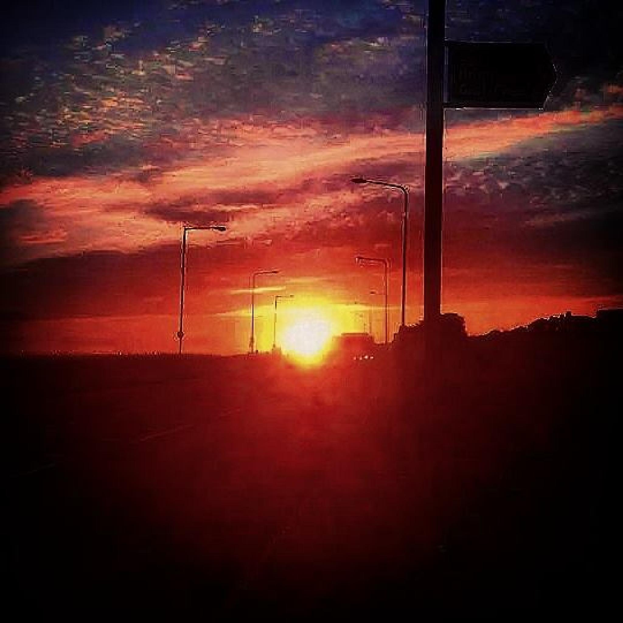 Photo in Landscape #sunset #dusk #nature #journey