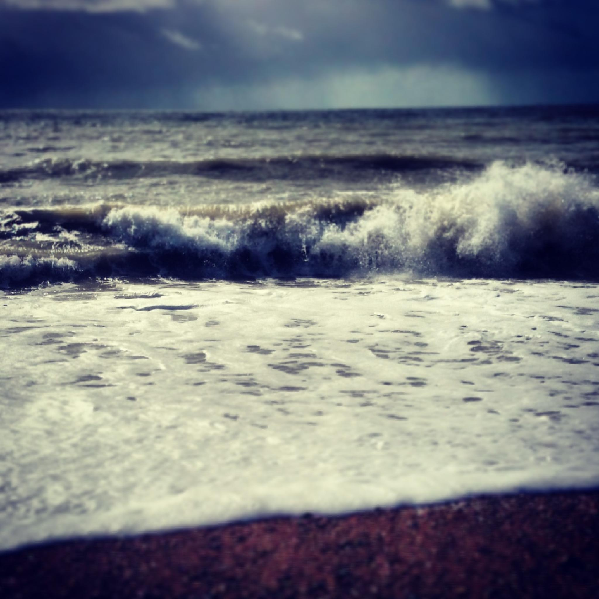 Photo in Sea and Sand #sea #beach #seaside #waves #nature #beauty