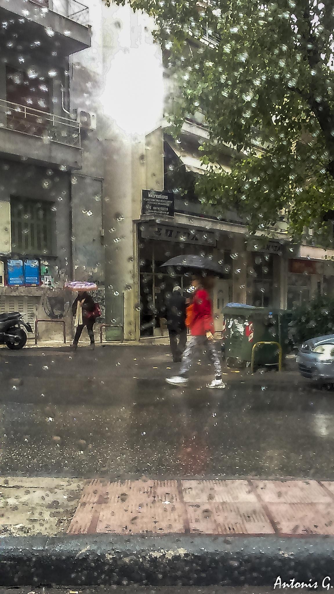 rain by Antonis Giakoumakis