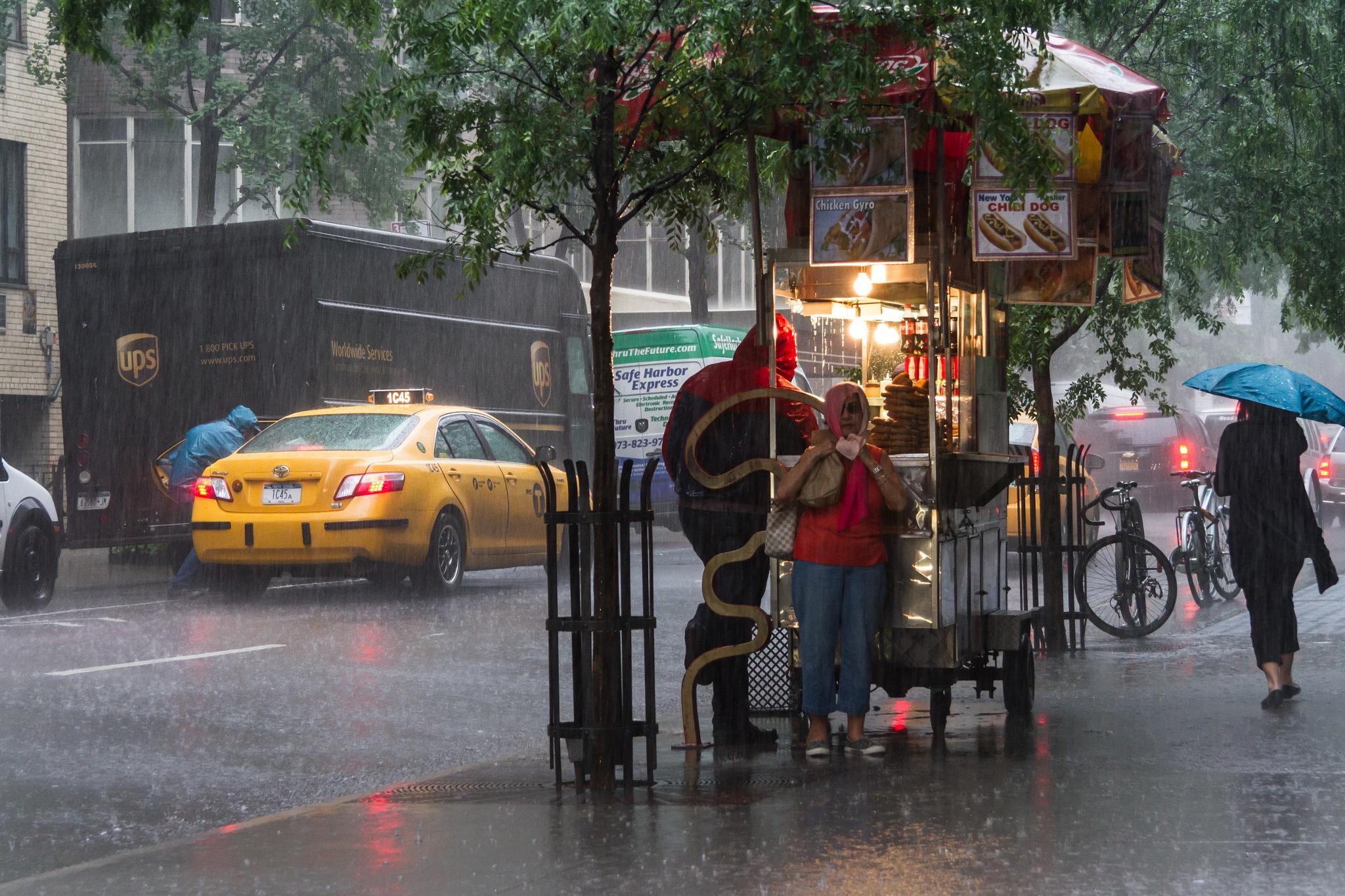 New York Under Rain by PatPetit