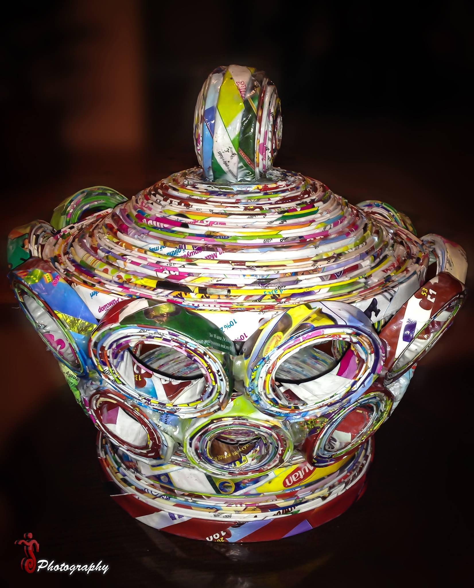 Photo in Fine Art #paper #basket #handmade
