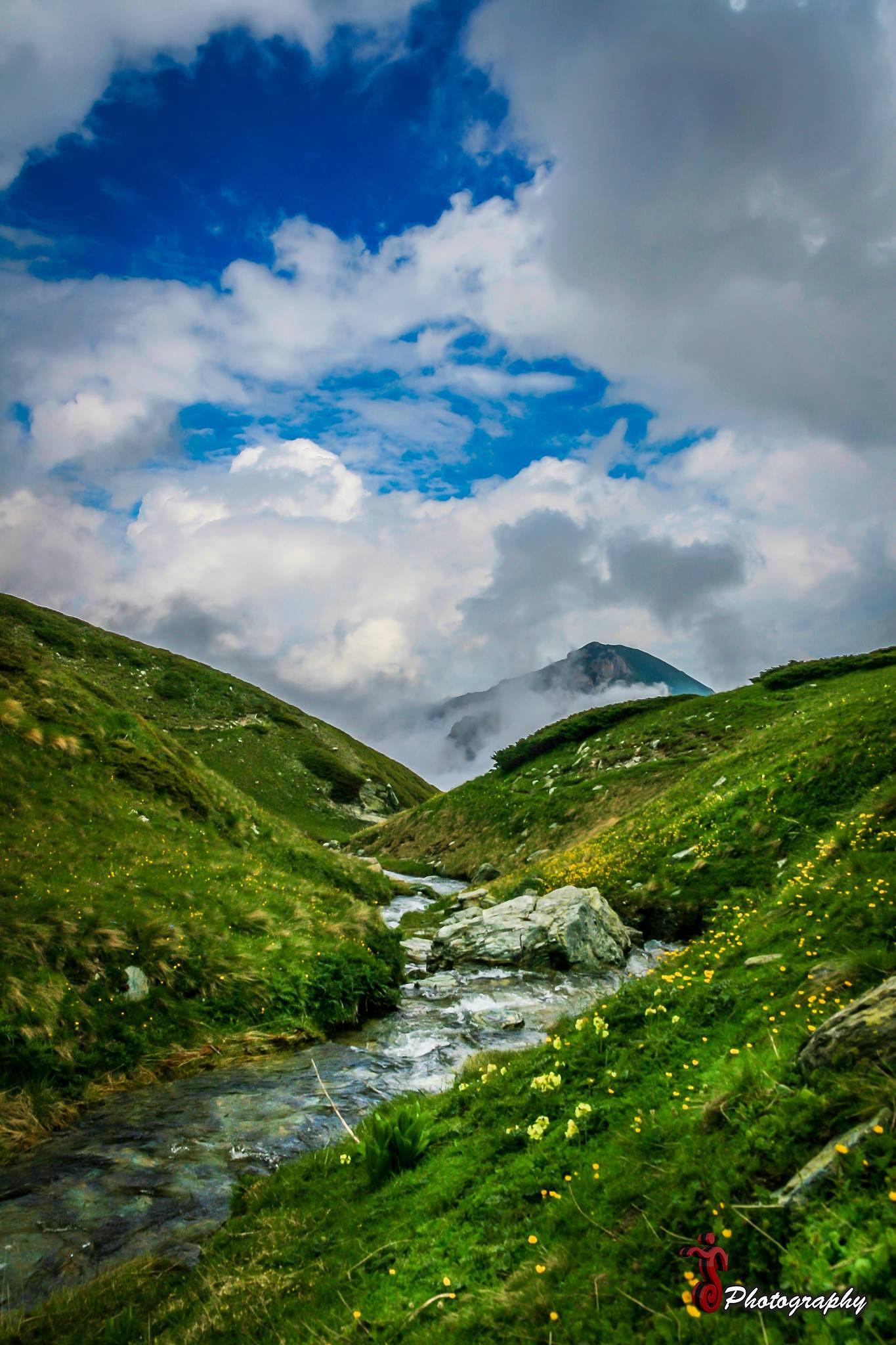 Photo in Landscape #nature #landscape #water #sky #grass
