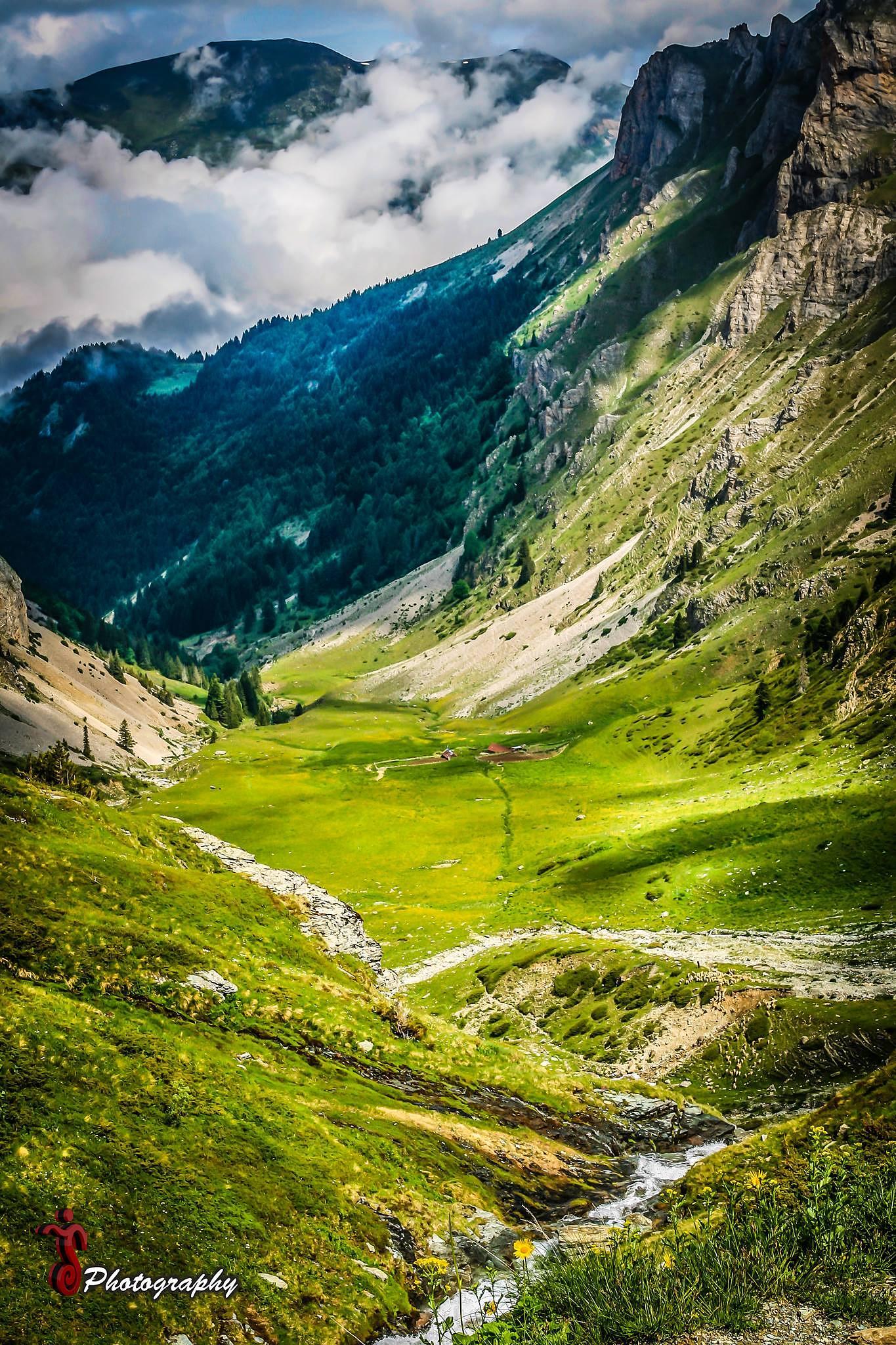 Photo in Landscape #nature #landscape #water #grass #sky