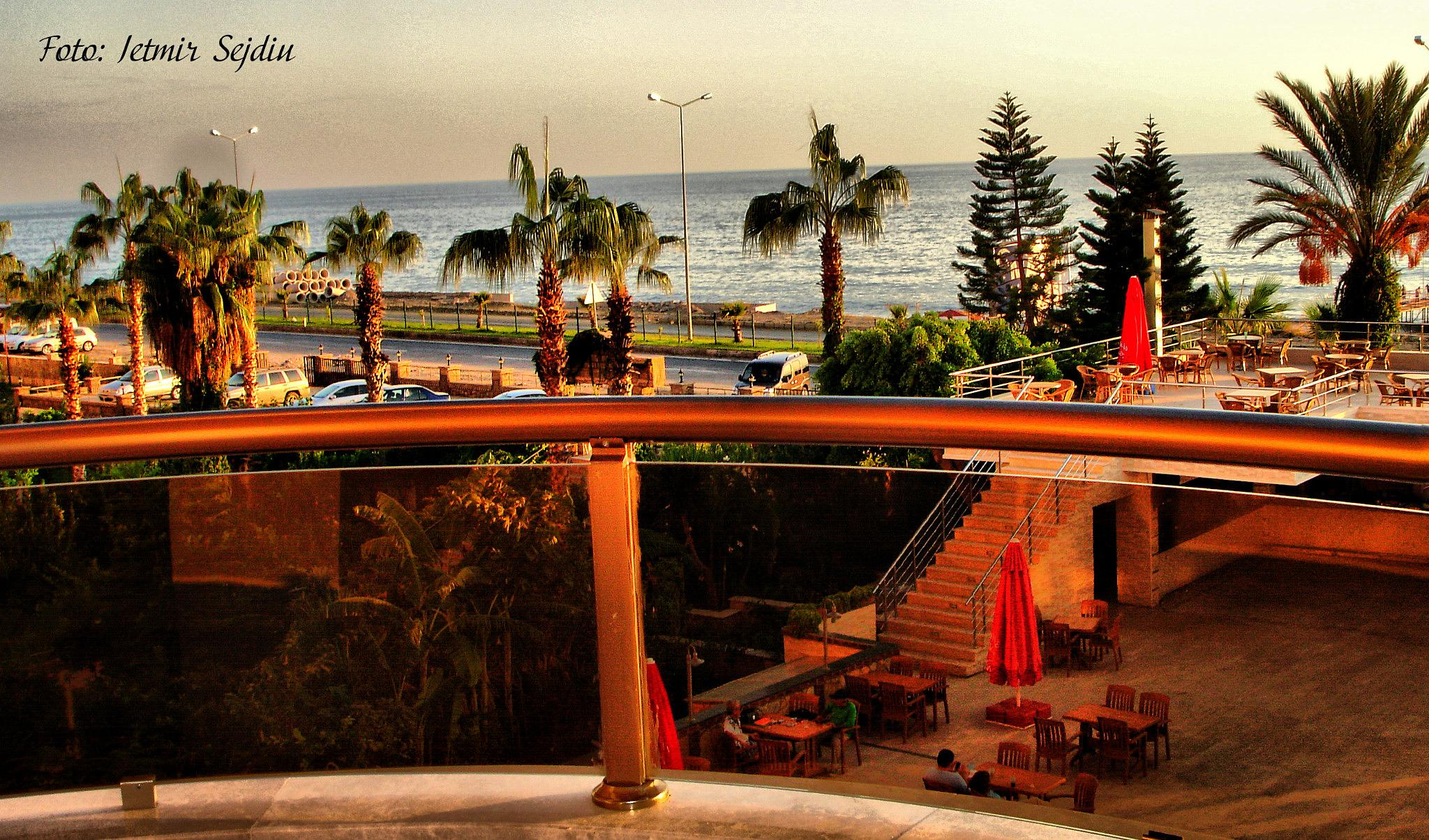 Photo in Sea and Sand #beach #balcony #water #sea #pool