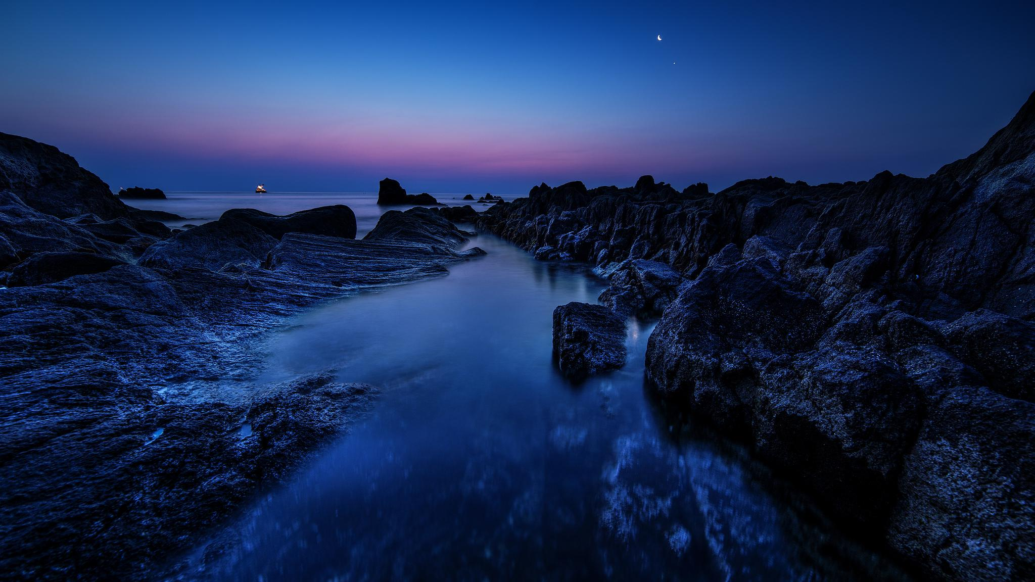 Blue Hour by Motohisa Shimazu