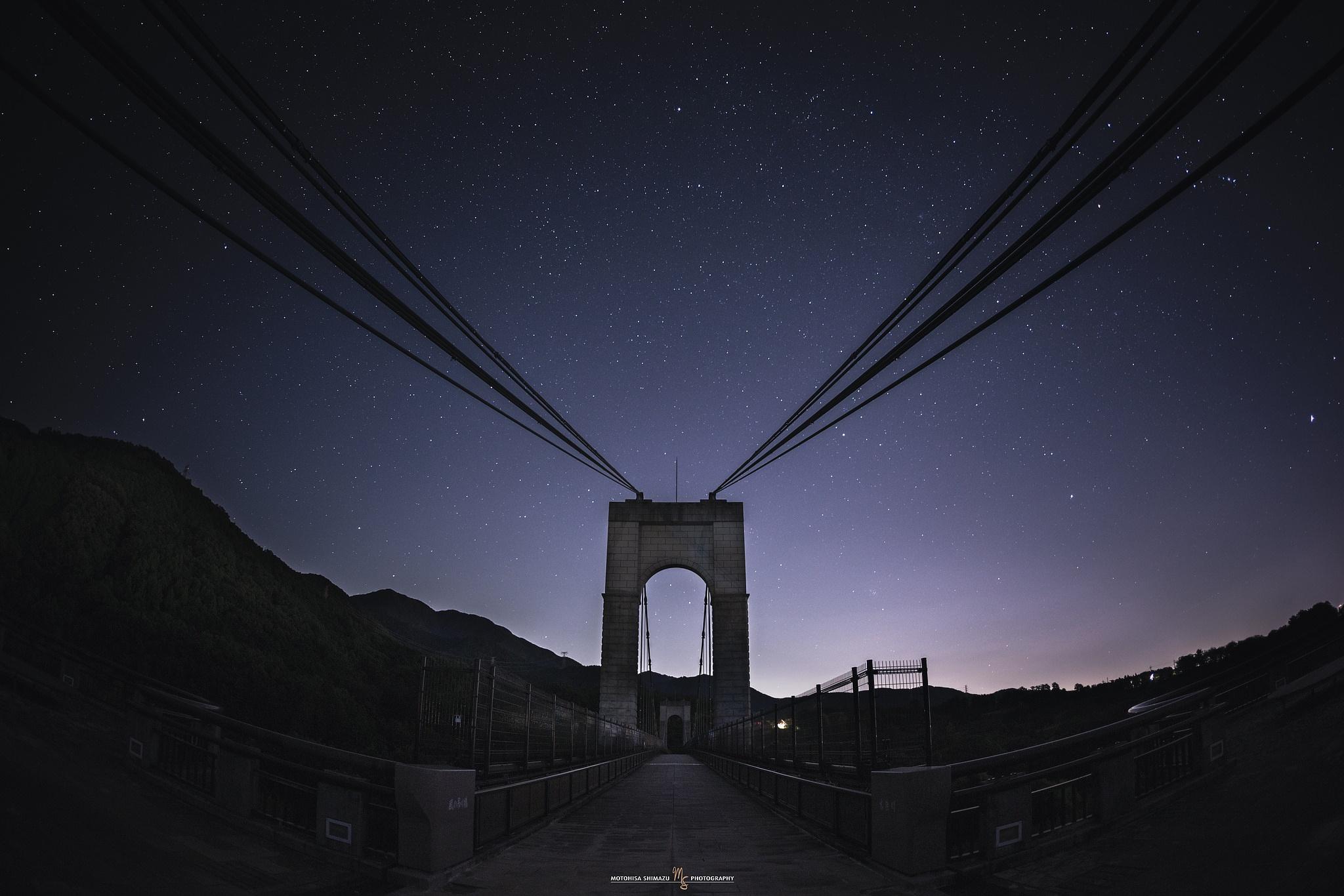 Star Gate Bridge by Motohisa Shimazu