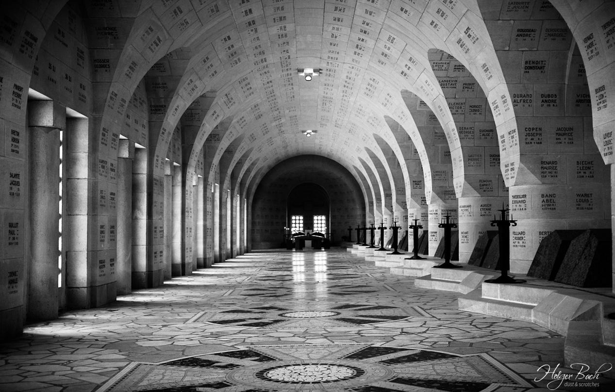 * Ossuaire de Douaumont * VERDUN/FRANCE * by *DUST & SCRATCHES*