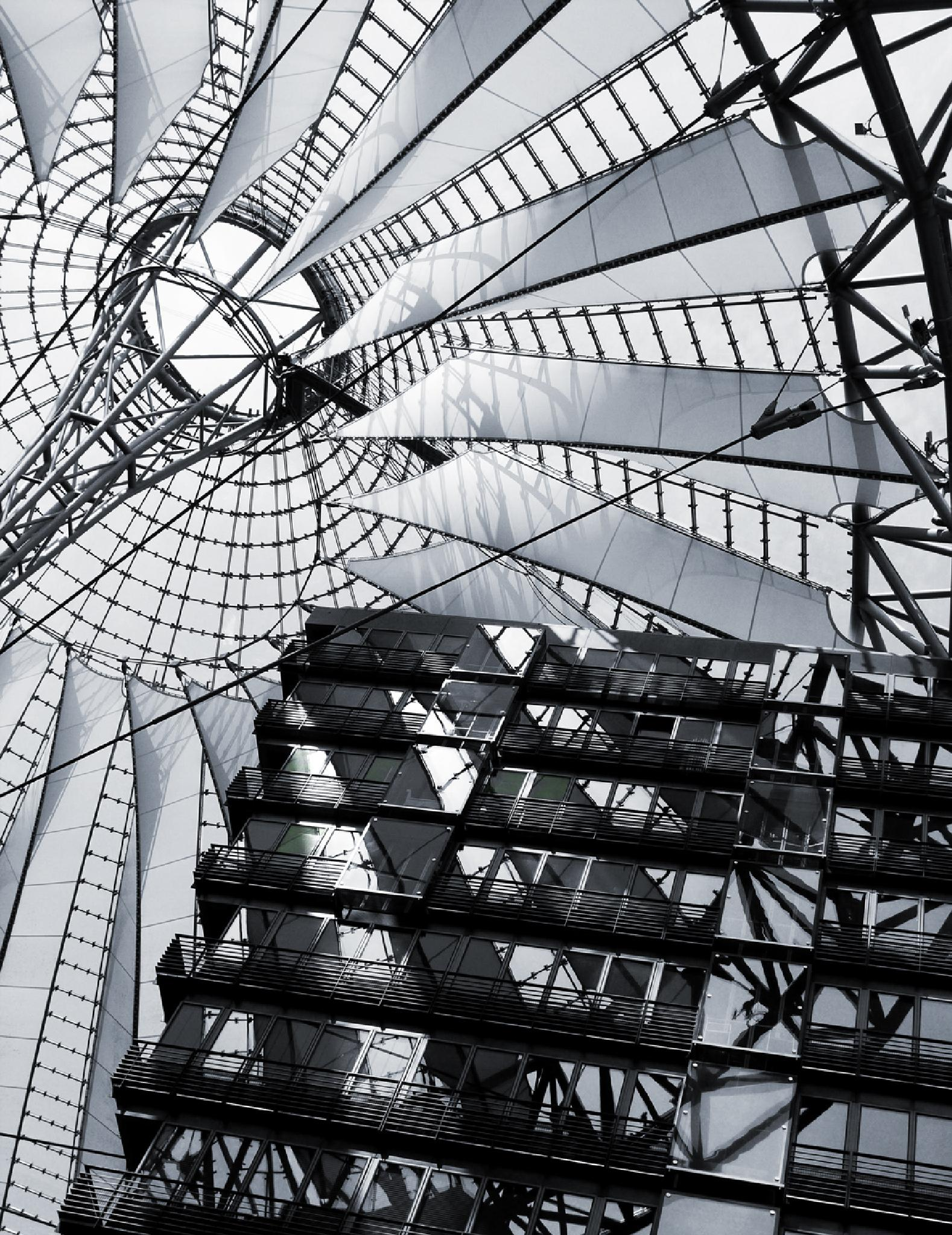 SONY CENTER * BERLIN by *DUST & SCRATCHES*