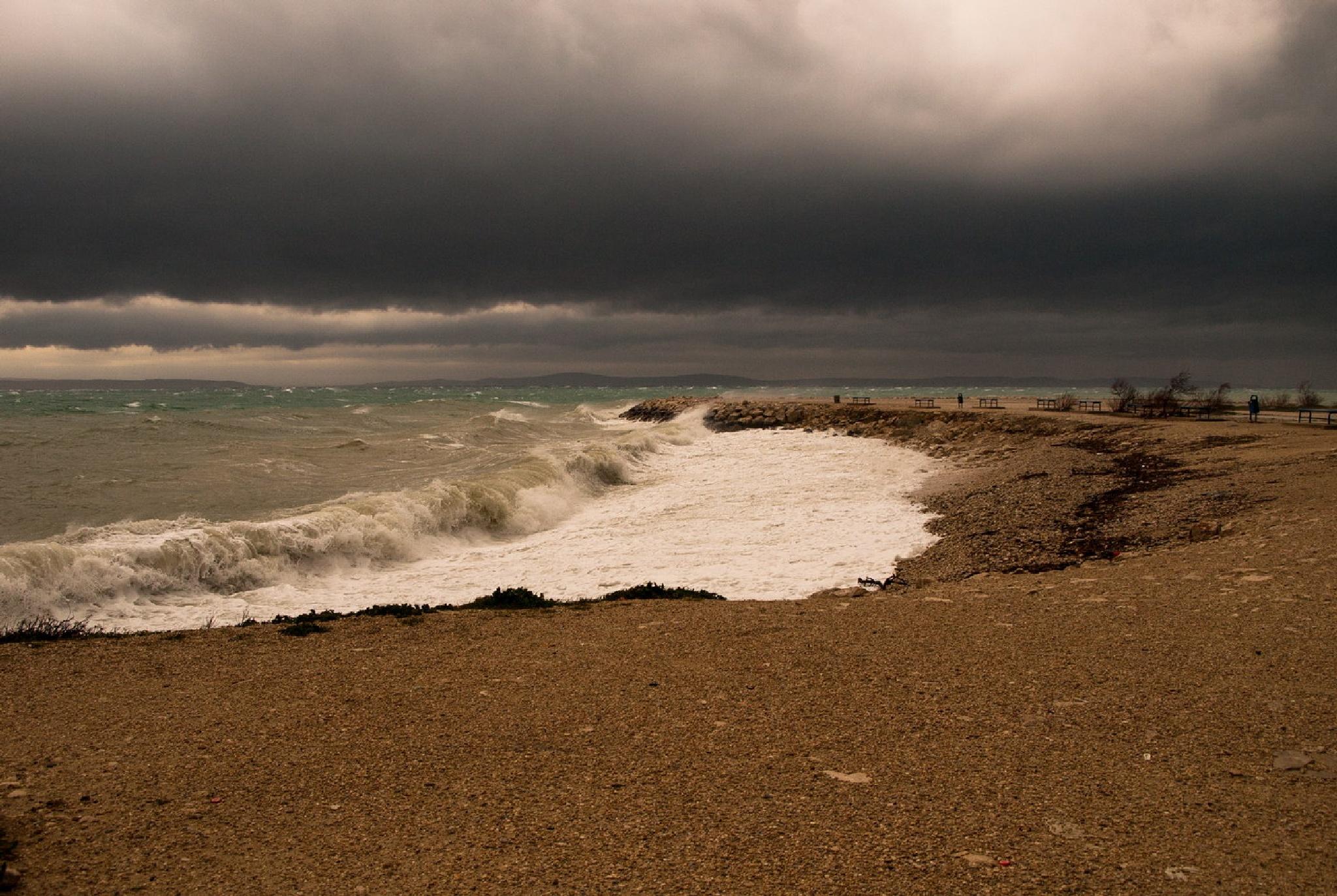 Stormy weather by Drago Sajc-Budija