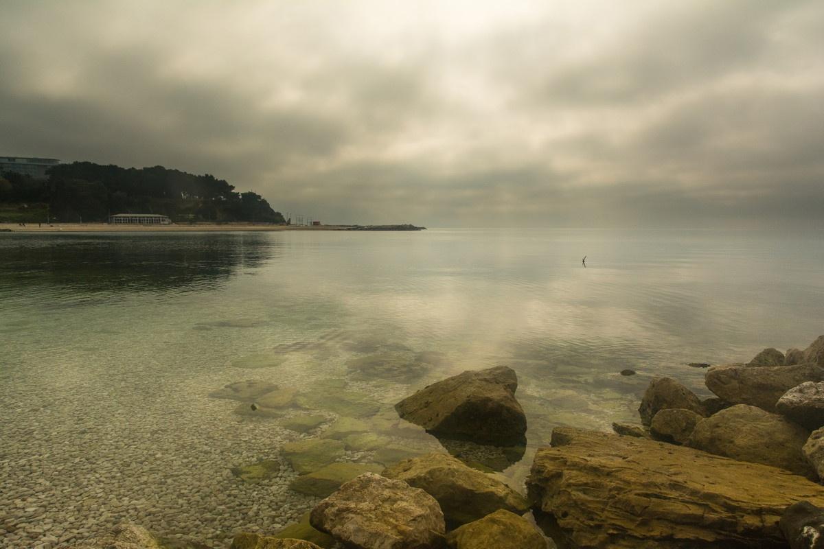 Cloudy Sunday morning by Drago Sajc-Budija