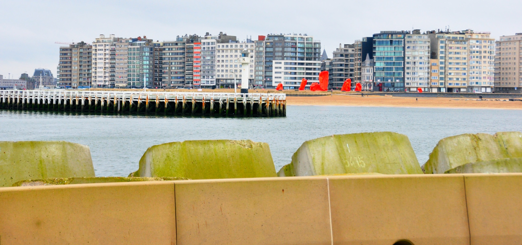 other skyline of Ostend by Marc Verlee