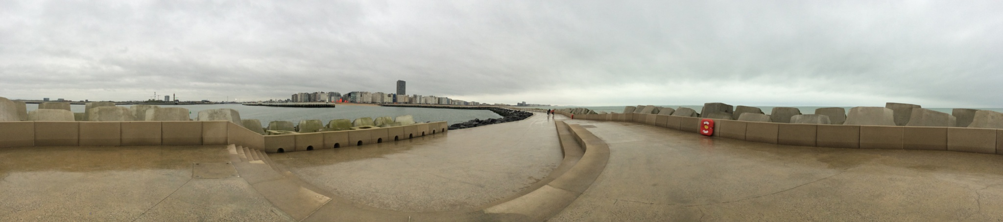 other skyline of Ostend Panorama by Marc Verlee