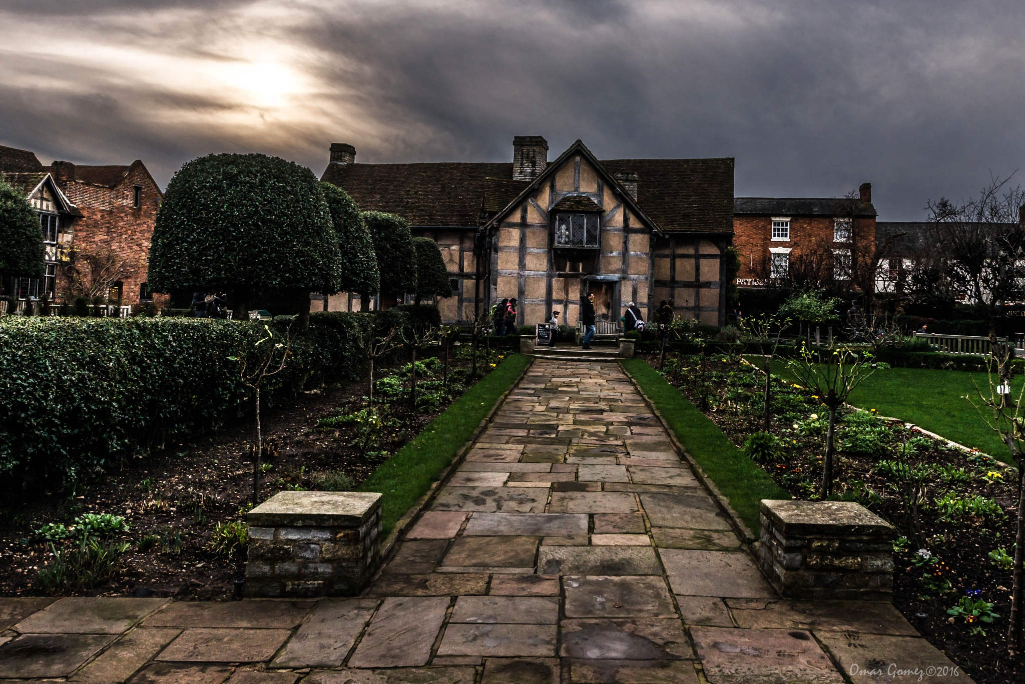 Shakespeare's House by Omar Gomez