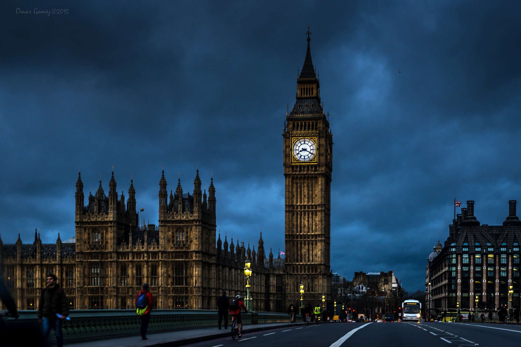 The Big Ben  by Omar Gomez