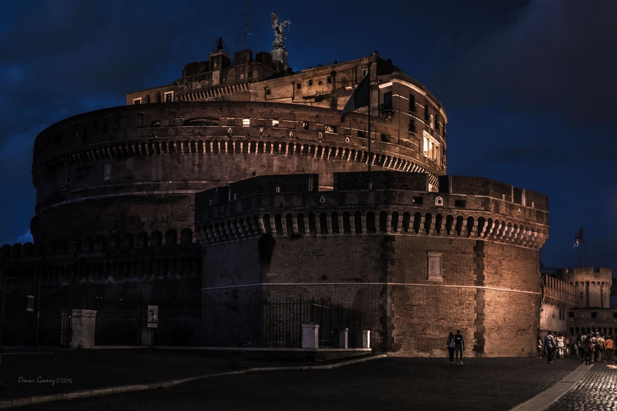 Sant'Angelo Castle by Omar Gomez