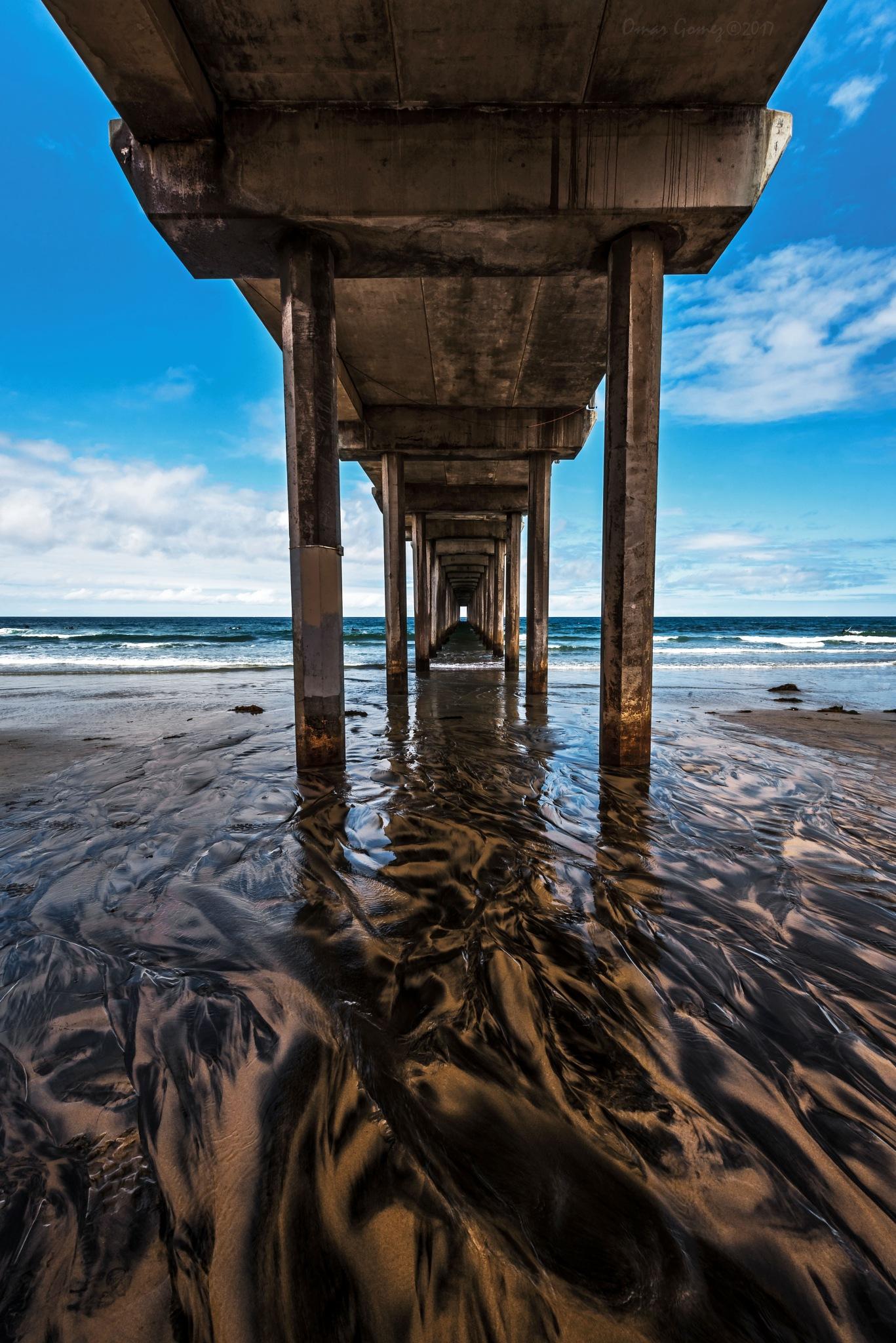 Scripps Pier II by Omar Gomez