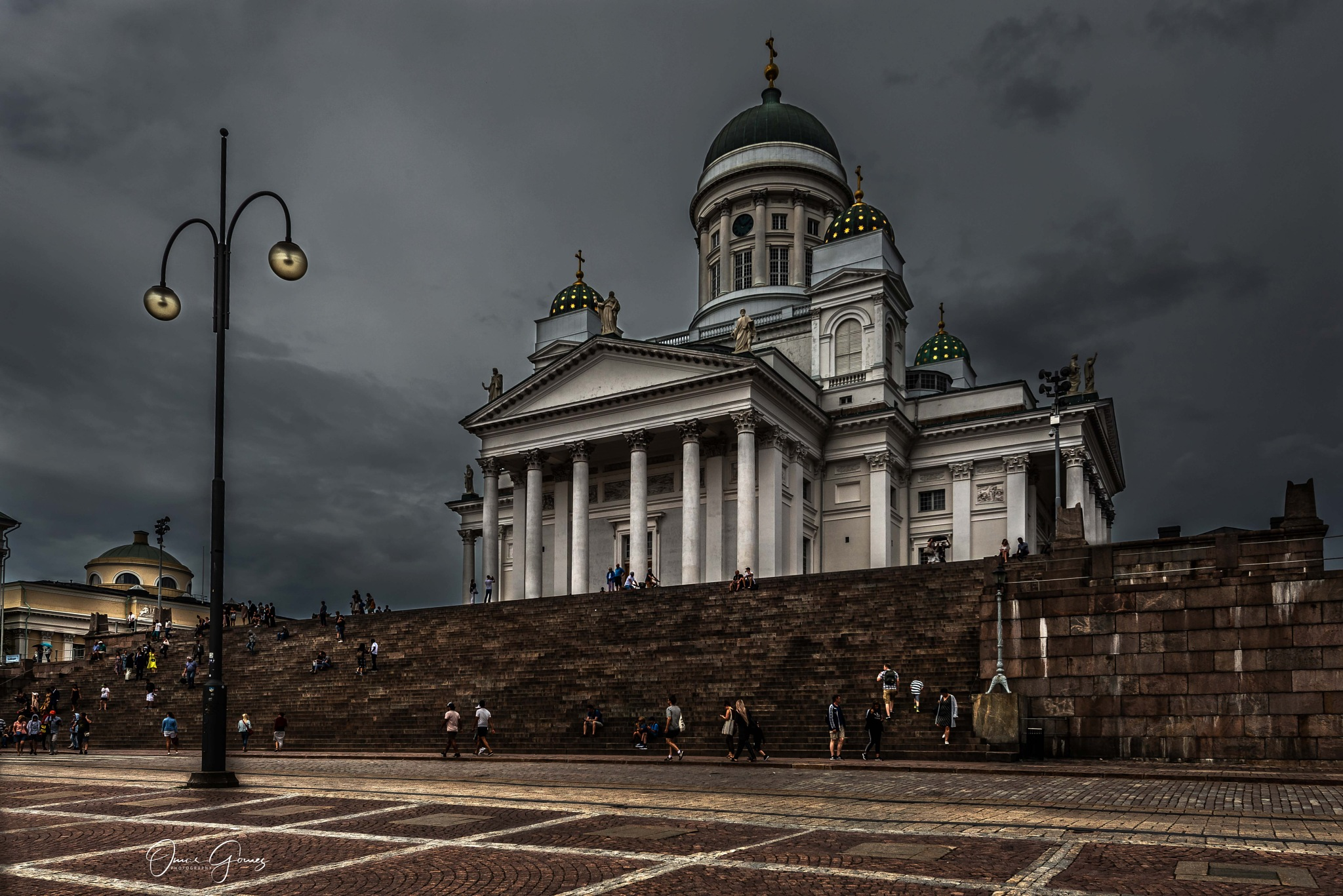 Helsinki Cathedral by Omar Gomez