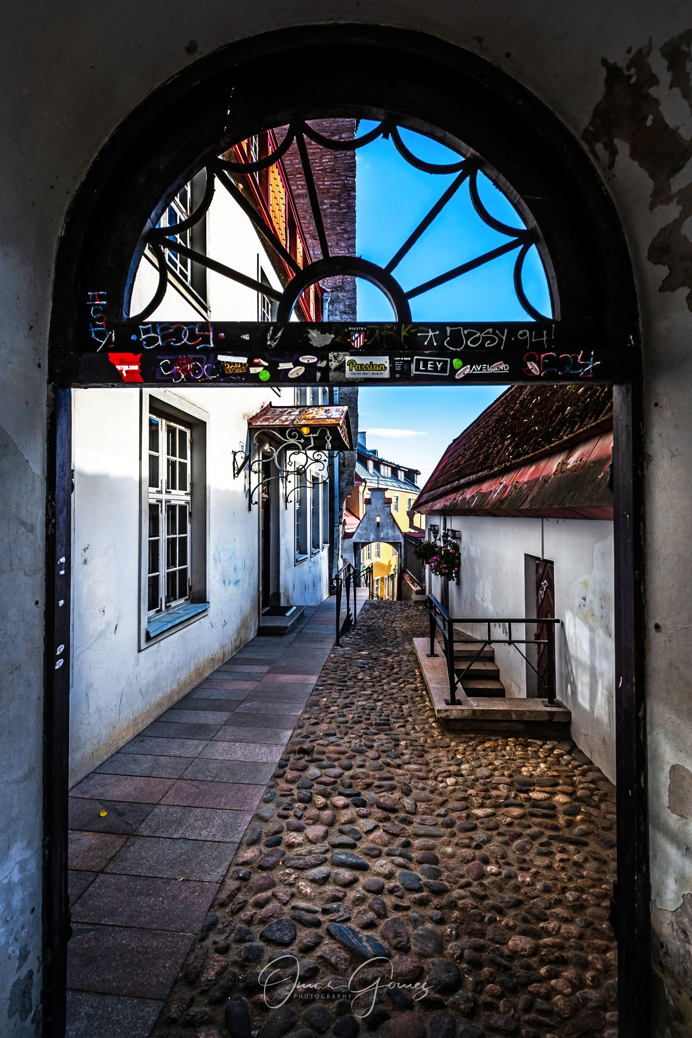 Passage to The Old Town by Omar Gomez